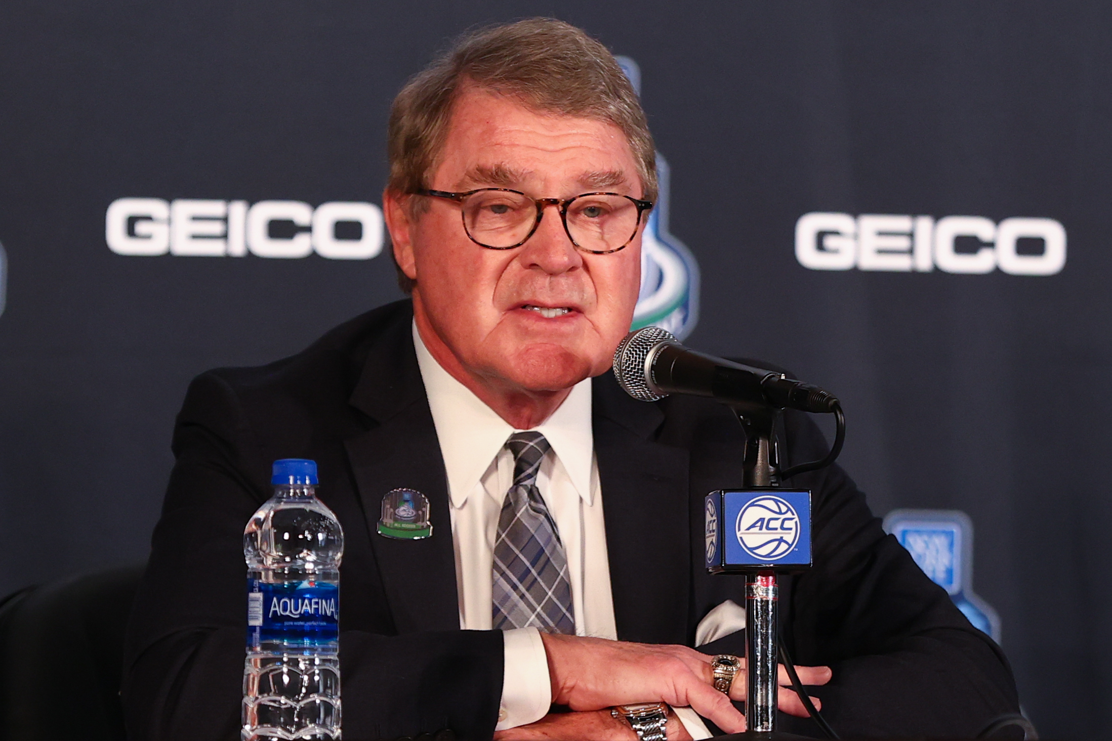 NCAA Basketball: ACC Tournament-ACC Commisoner John Swofford Press Conference