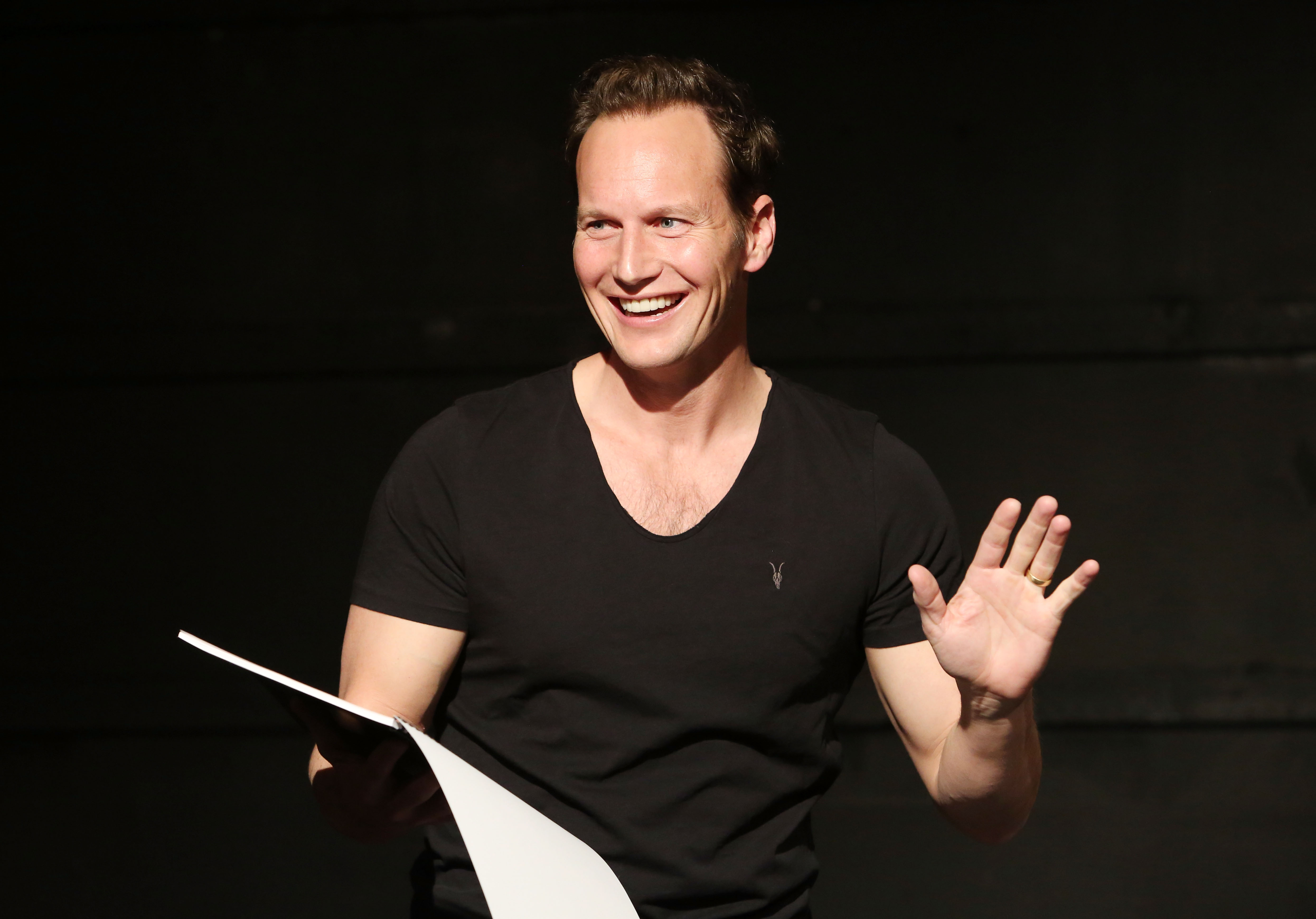 """Patrick Wilson Takes The Stage In """"White Rabbit Red Rabbit"""""""