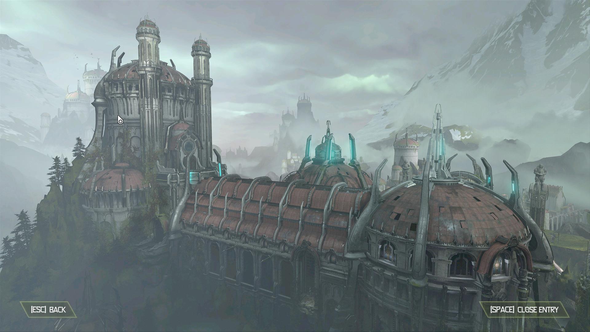 The Cultist Base in Doom Eternal