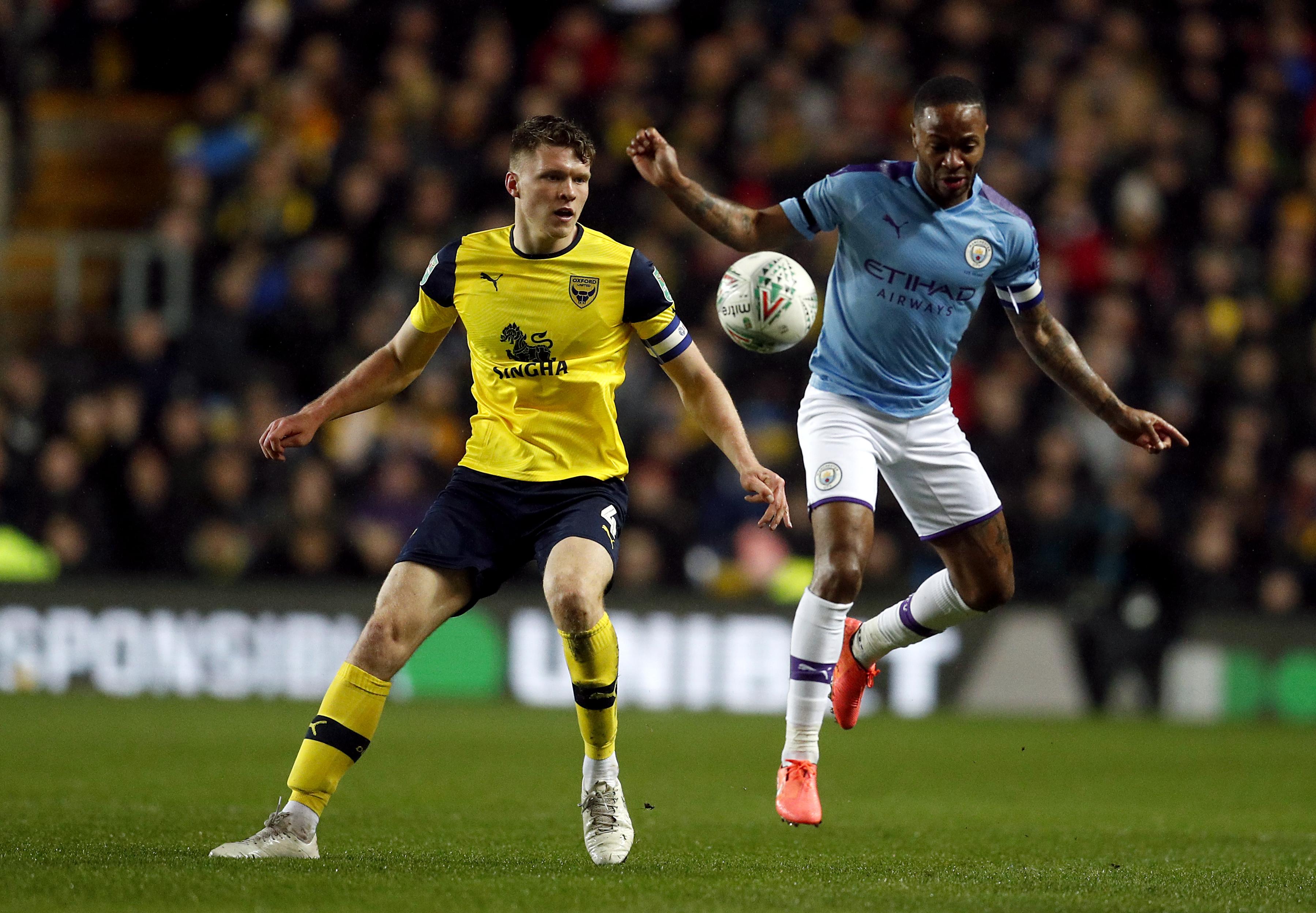Oxford United v Manchester City - Carabao Cup - Quarter Final - Kassam Stadium