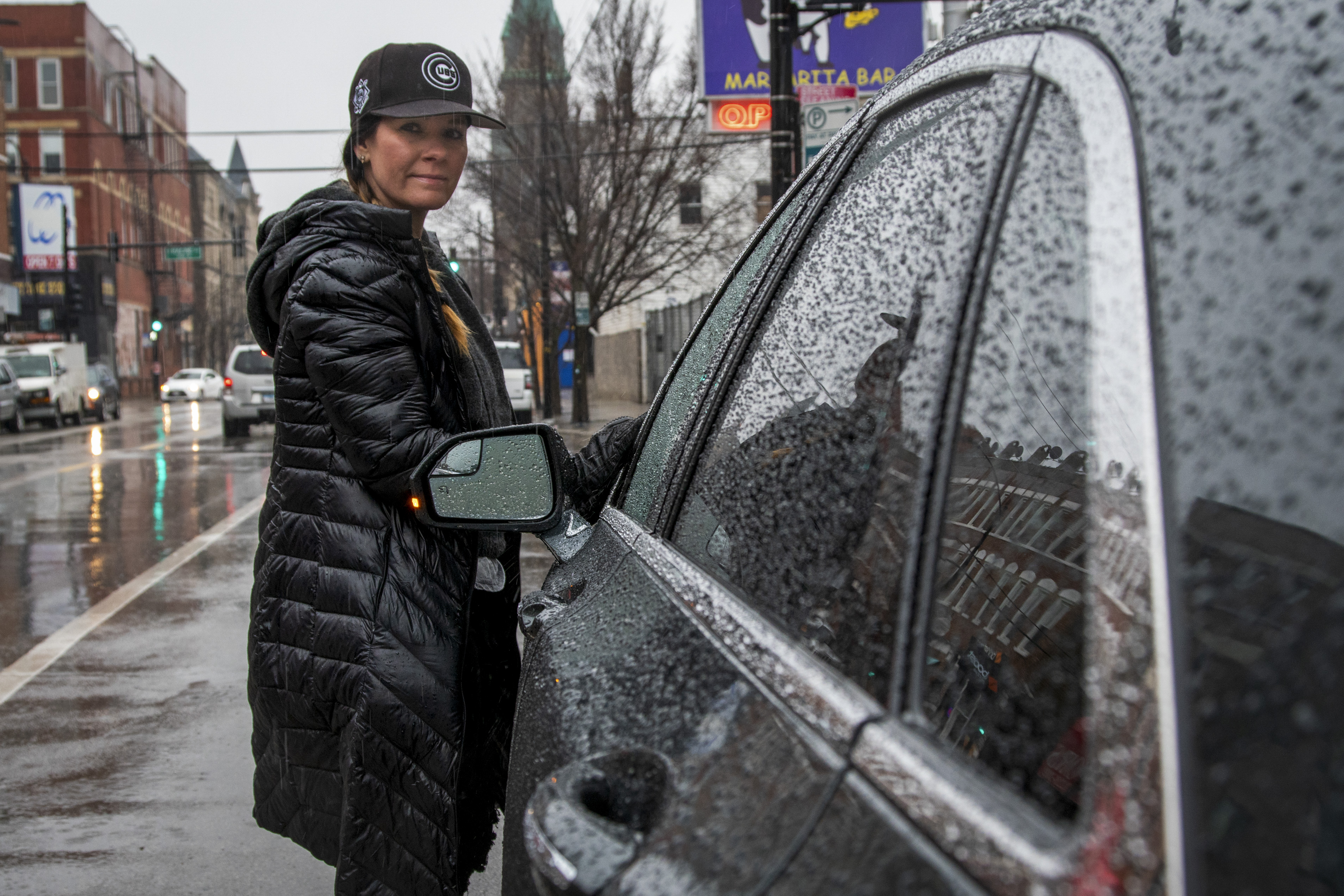Marion Dollar of Pilsen has decided not to drive for Uber and Lyft to do her part in social distancing amid the coronavirus crisis, even if that means forgoing income.