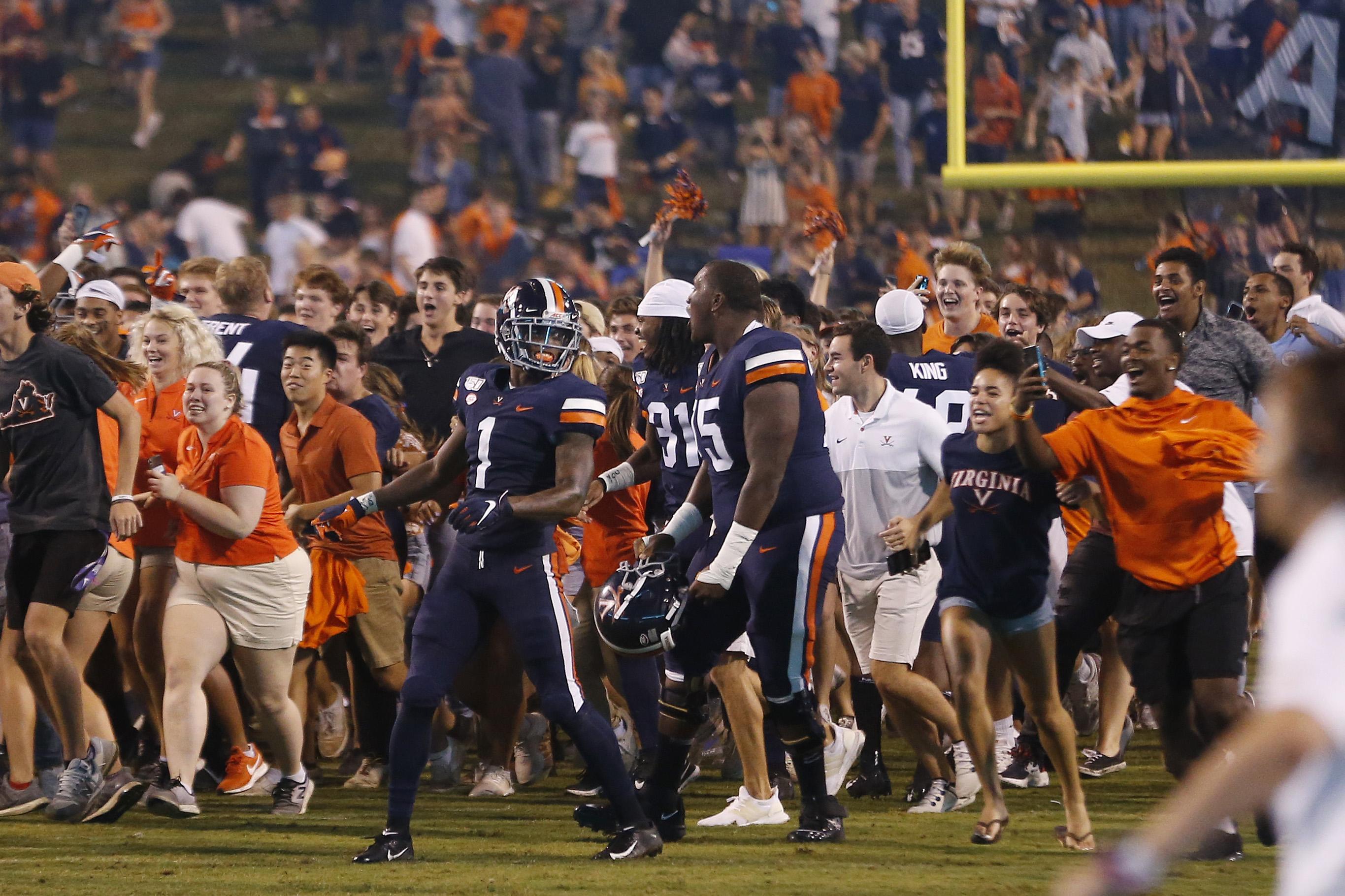 NCAA Football: Florida State at Virginia