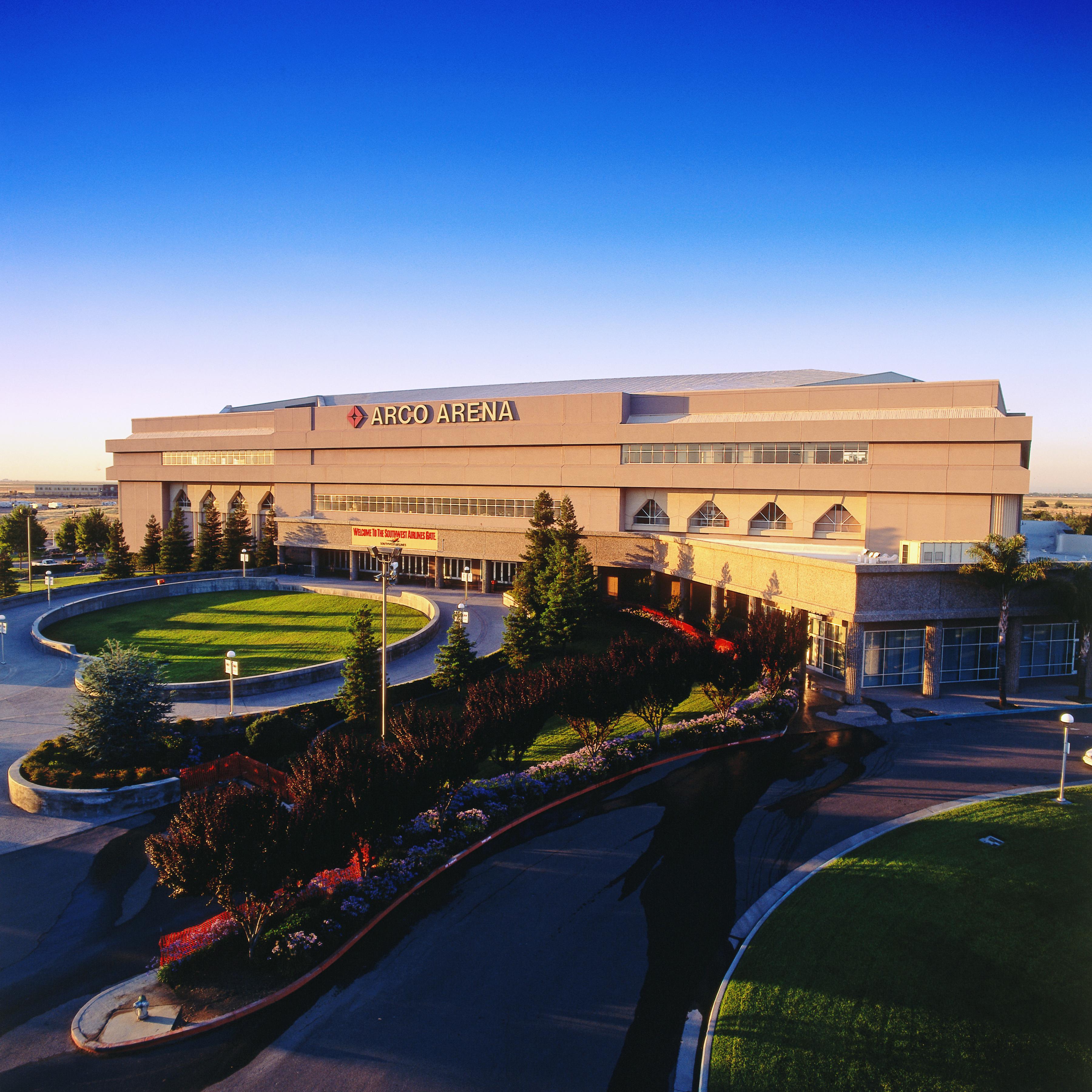Sacramento Kings Arco Arena Exterior View