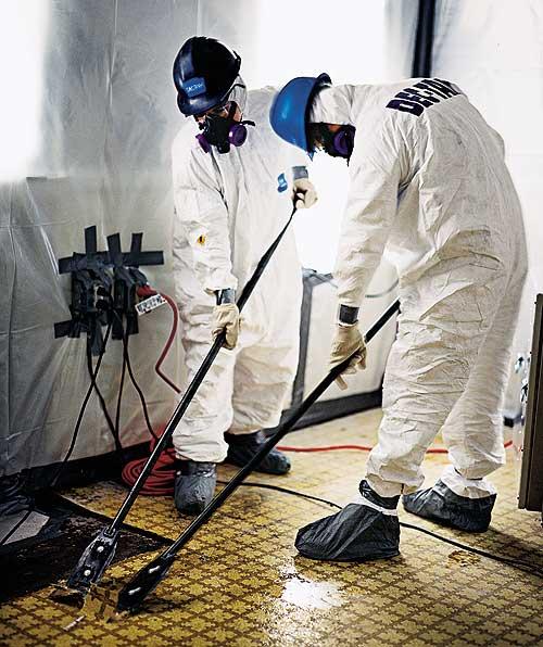 Asbestos On Vinyl Floor Tiles