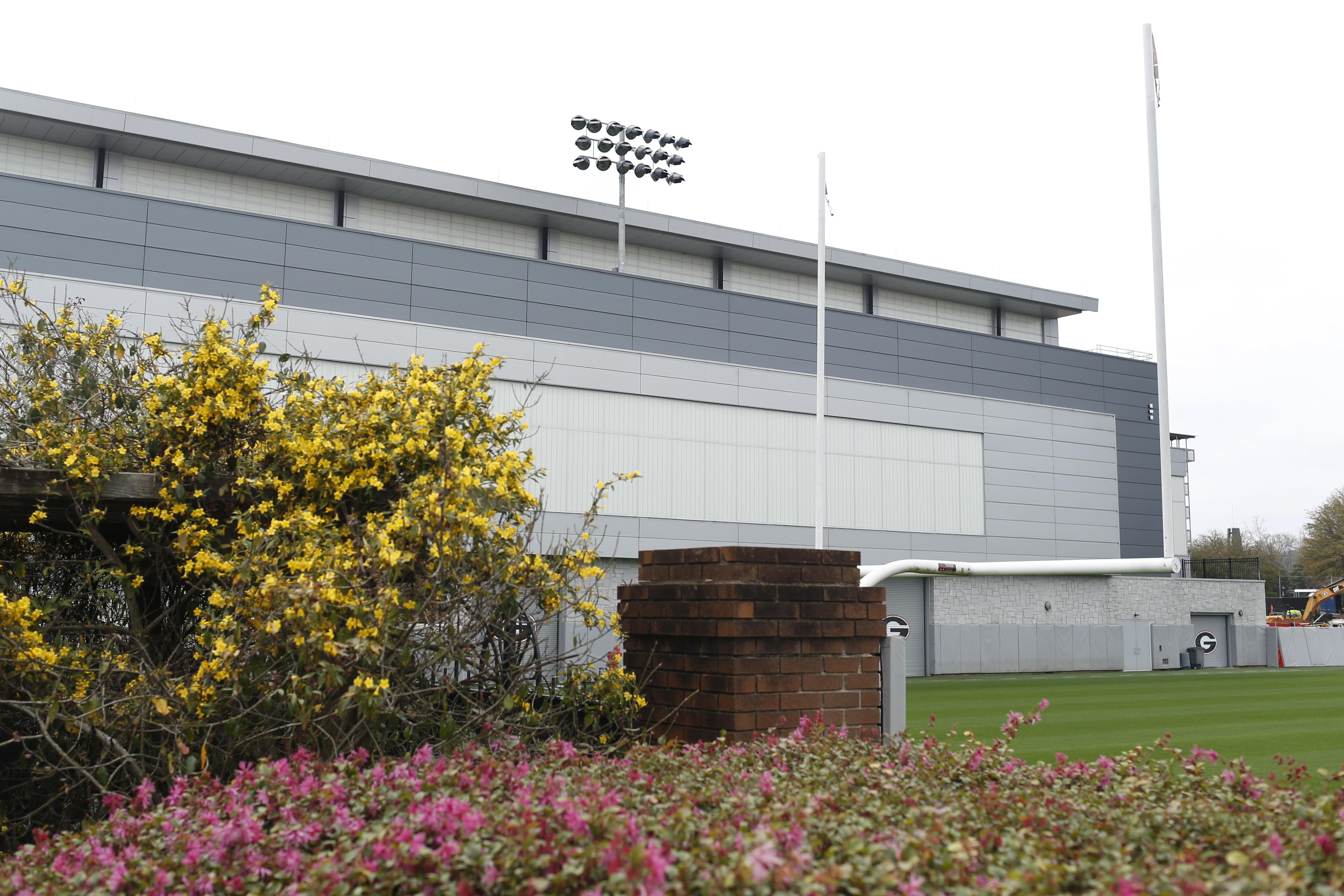 NCAA Football: Georgia Practice Facility