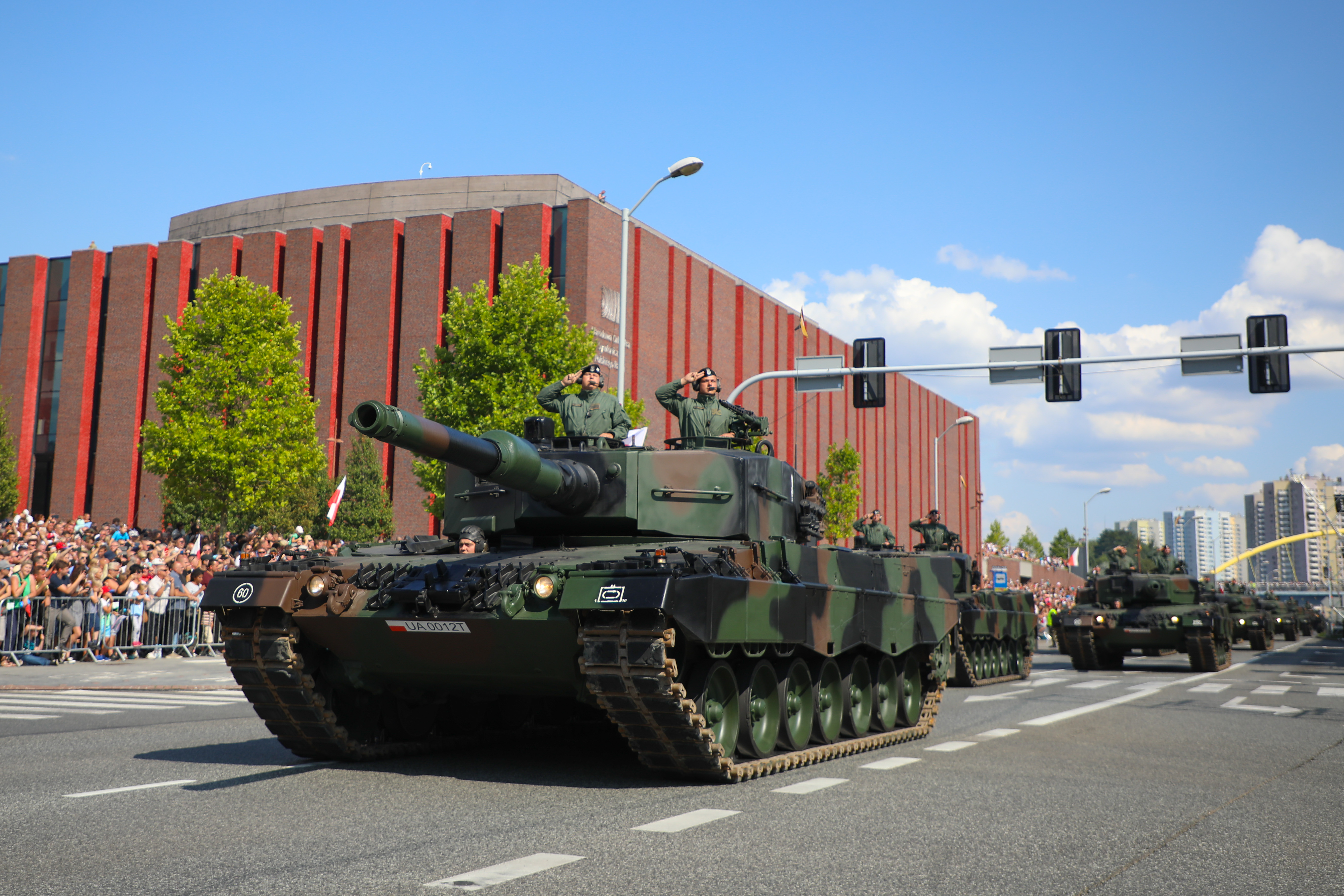 Polish Armed Forces Day Celebrated In Katowice