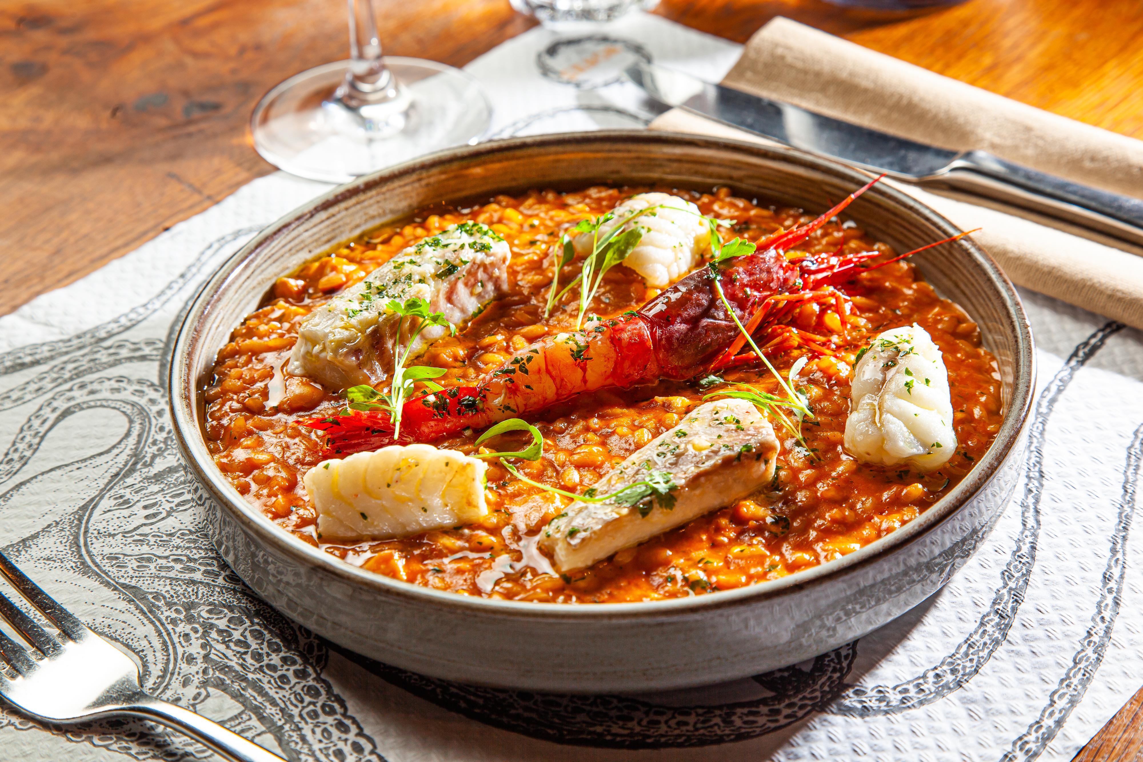 Sabor's seafood rice