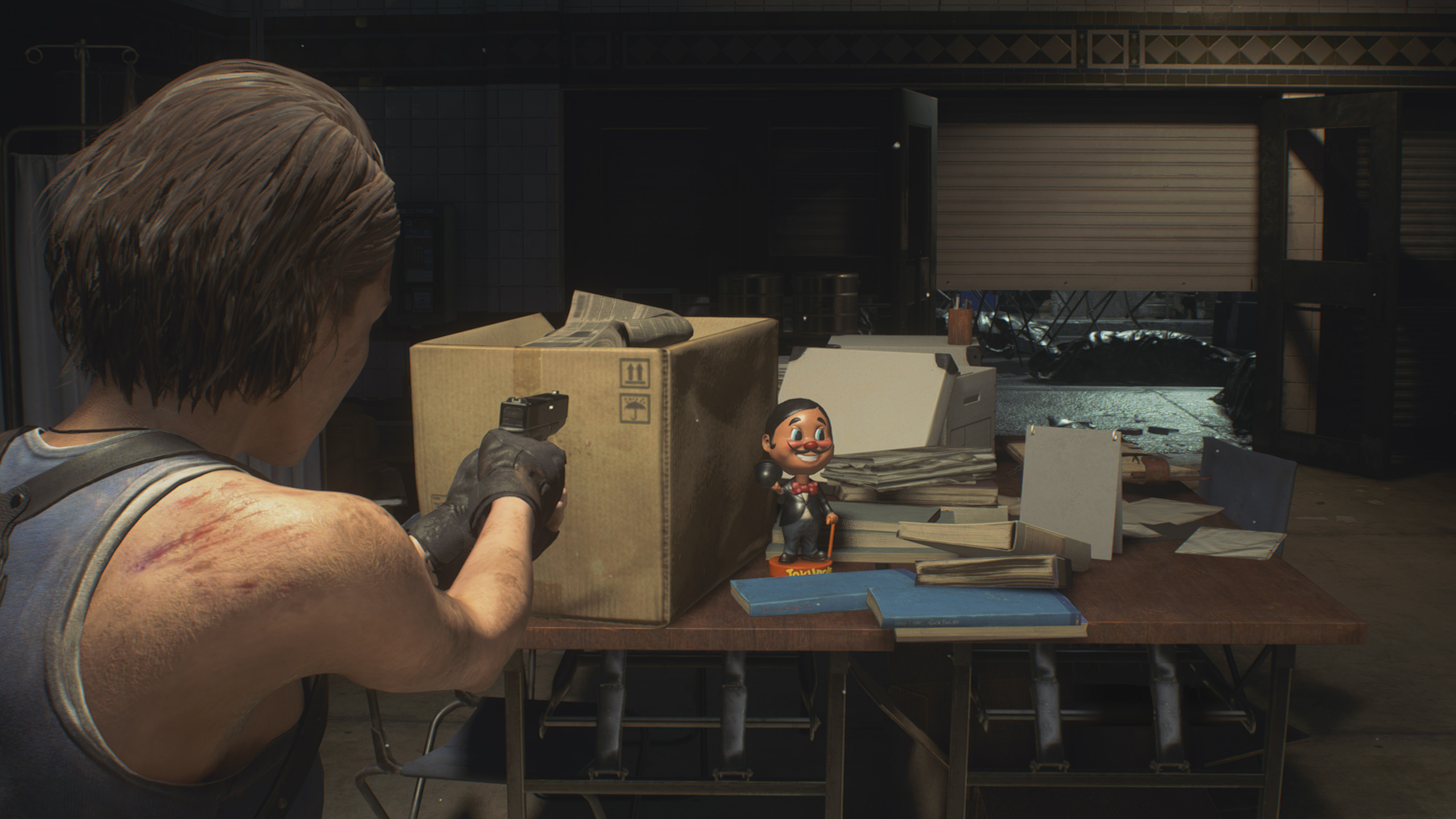 Resident Evil 3: Raccoon City Demo Mr. Charlie doll locations
