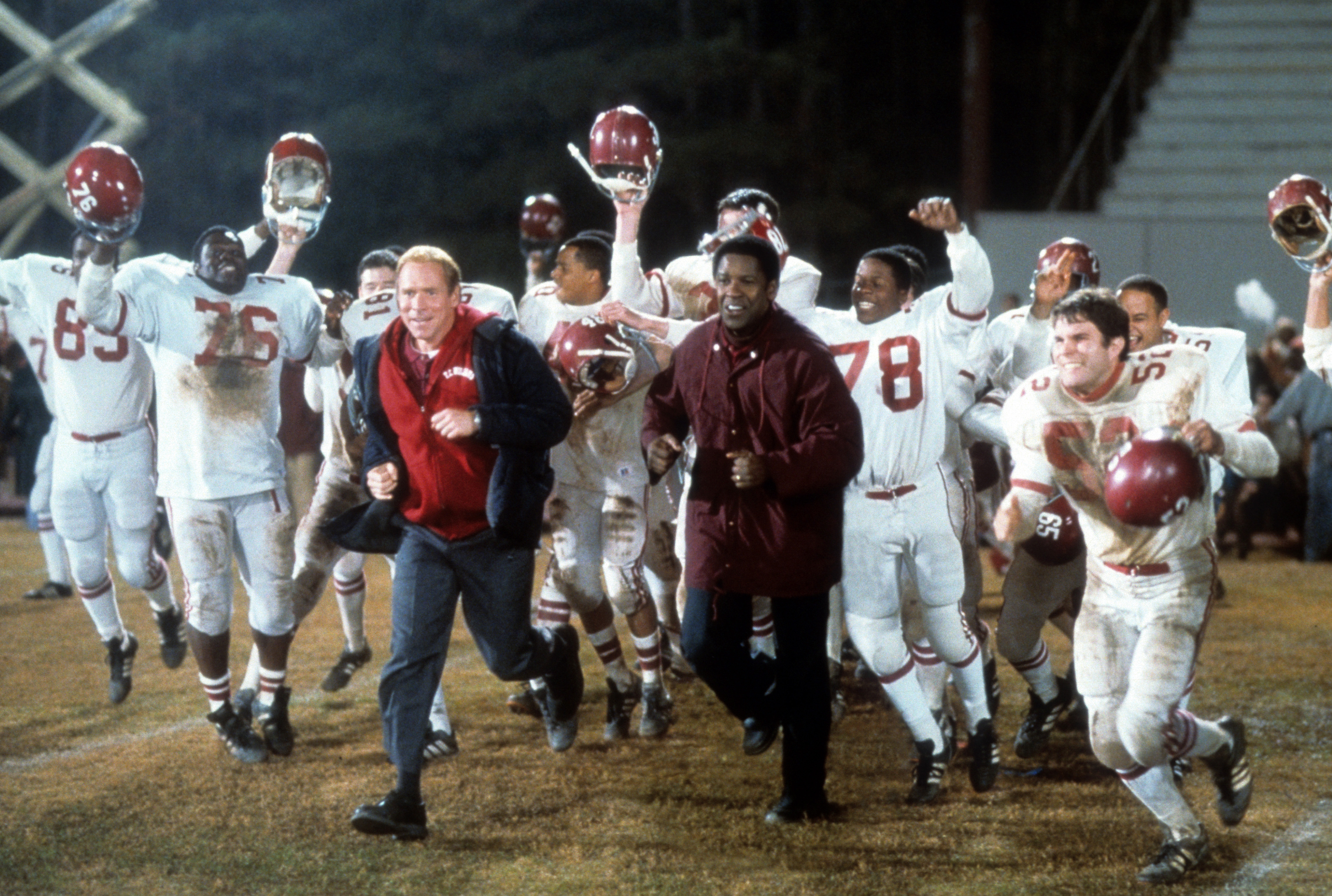 Will Patton And Denzel Washington In 'Remember The Titans'
