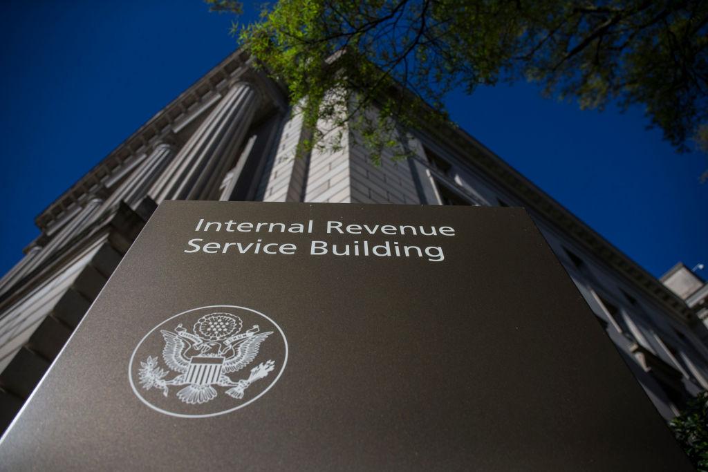 The Internal Revenue Service building in Washington D.C..