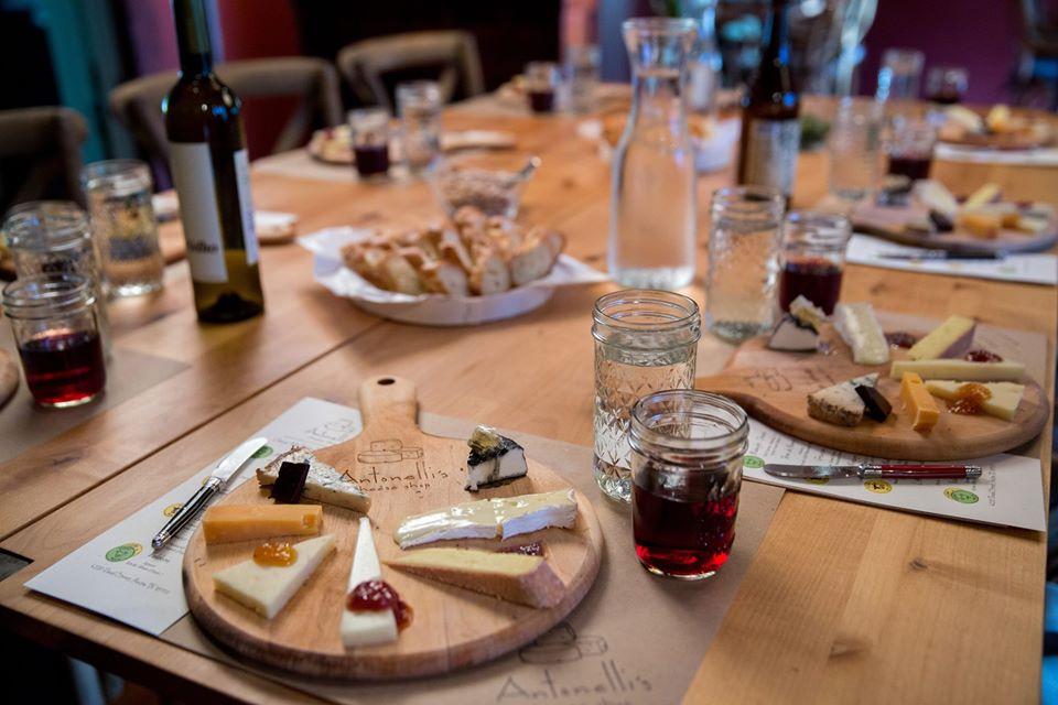 Antonelli's cheese tasting