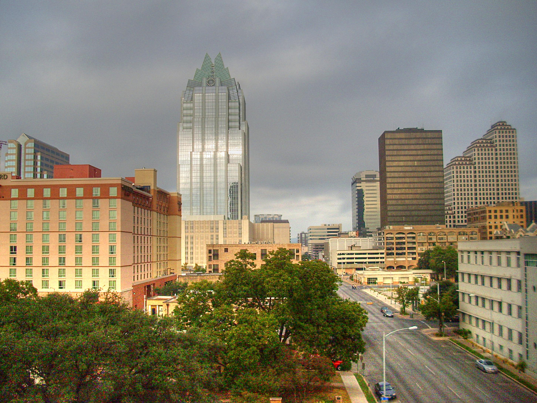 Austin, Texas skyline from south