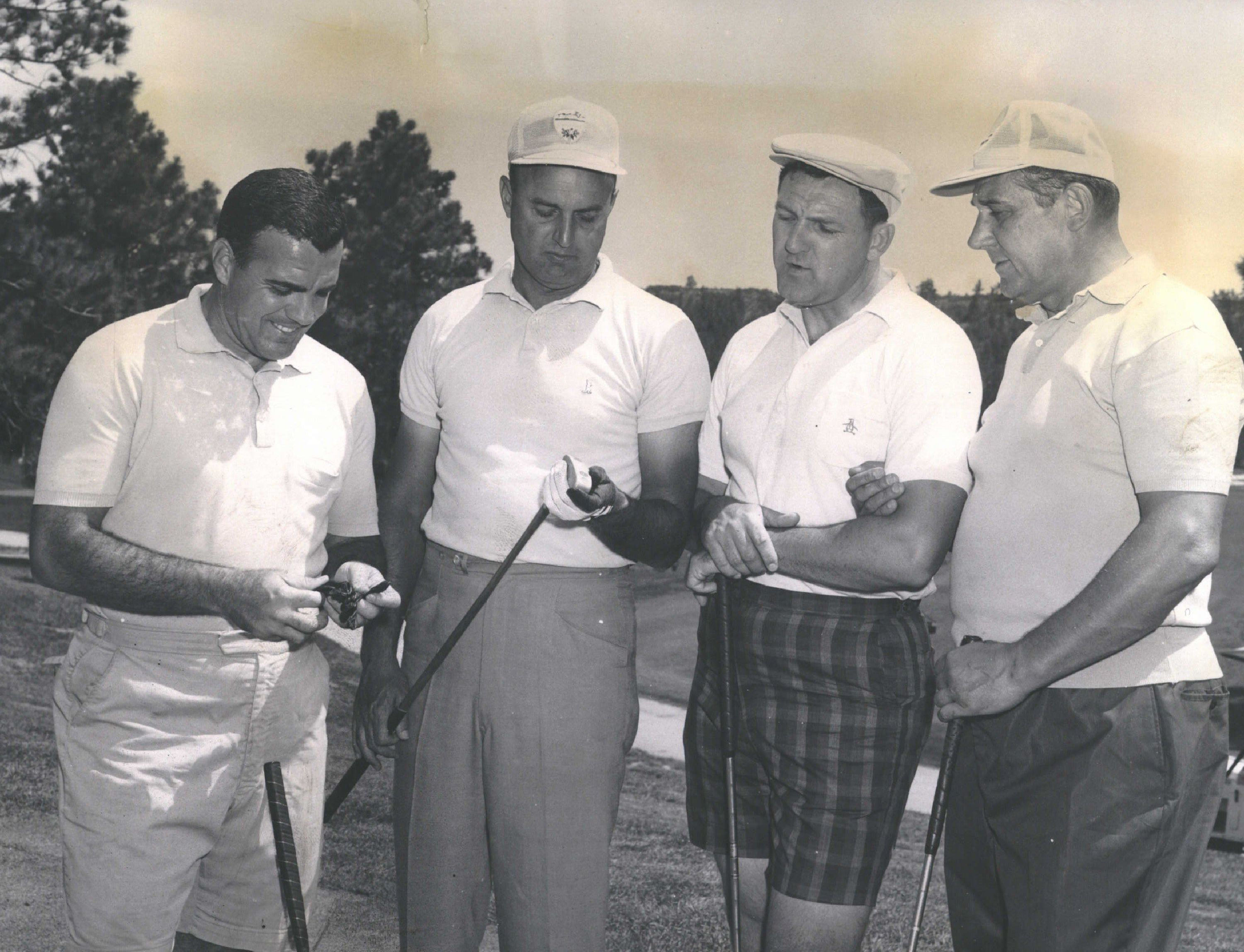 JUL 28 1964; Falcons, Irish Get Together On Links; After the business new football schedules between