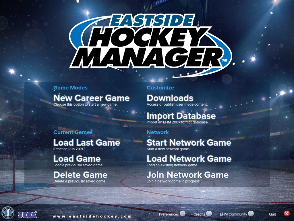 Eastside Hockey Manager is back on the table for another AAtJ Let's Pretend series.