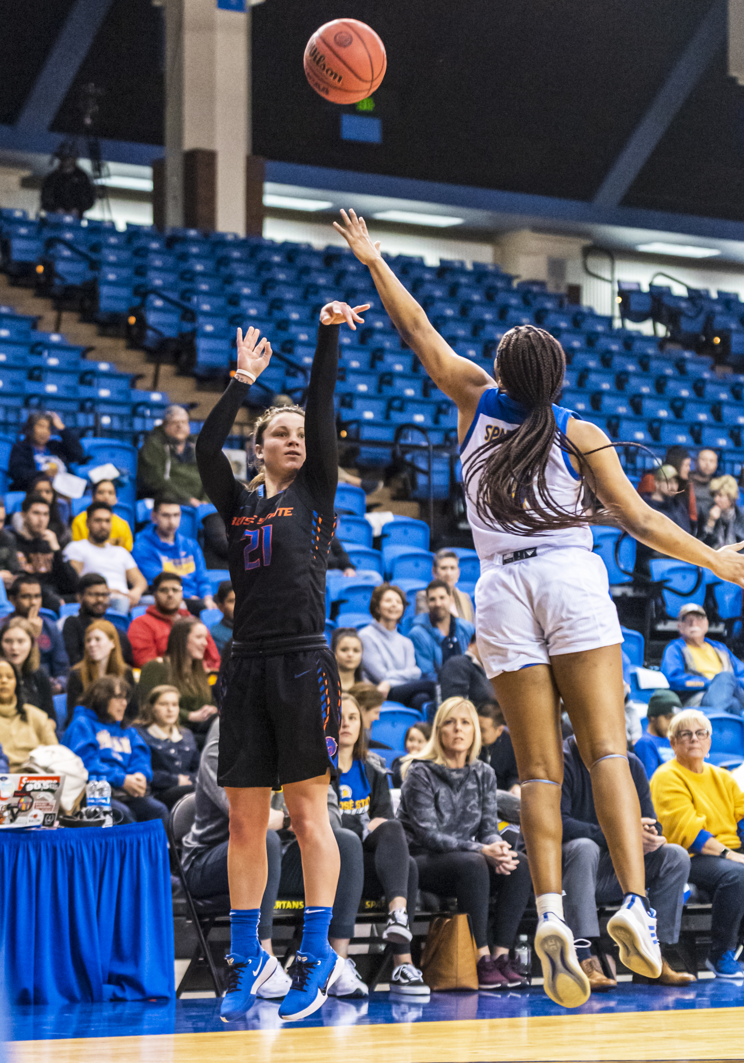 COLLEGE BASKETBALL: JAN 29 Women's Boise State at San Jose State
