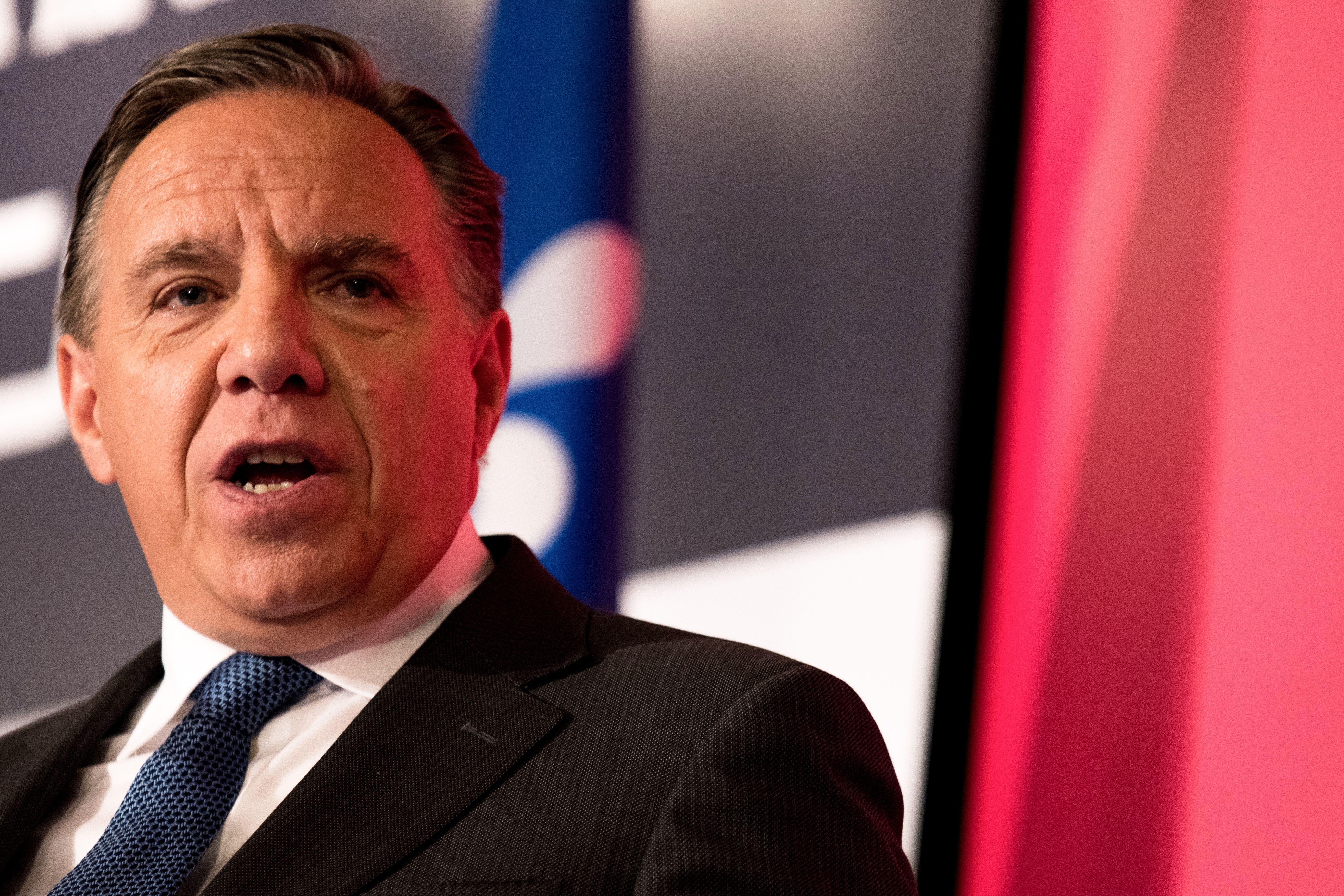 FILES-CANADA-QUEBEC-ELECTIONS-CAQ-PM