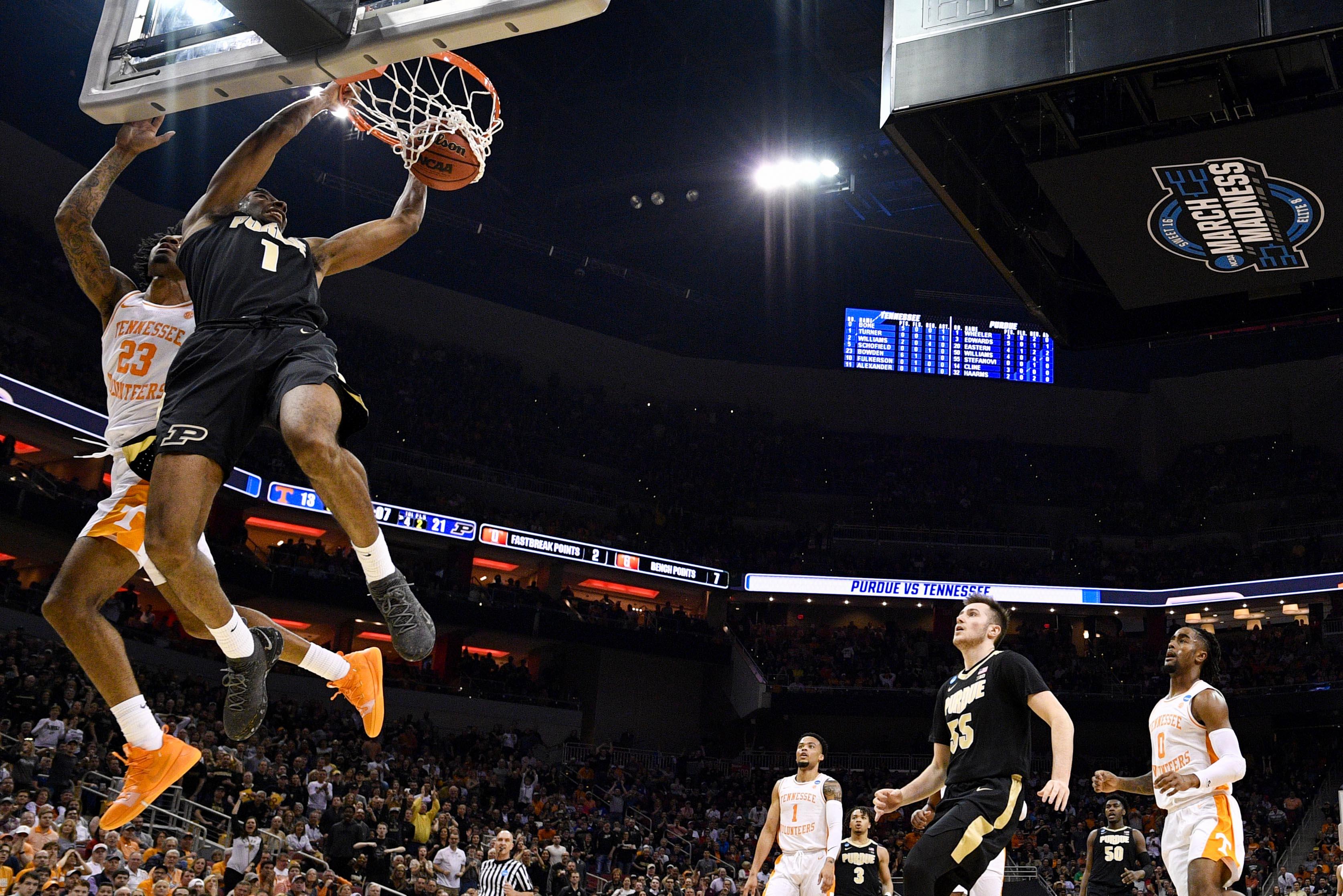 NCAA Basketball: NCAA Tournament-South Regional-Purdue vs Tennessee