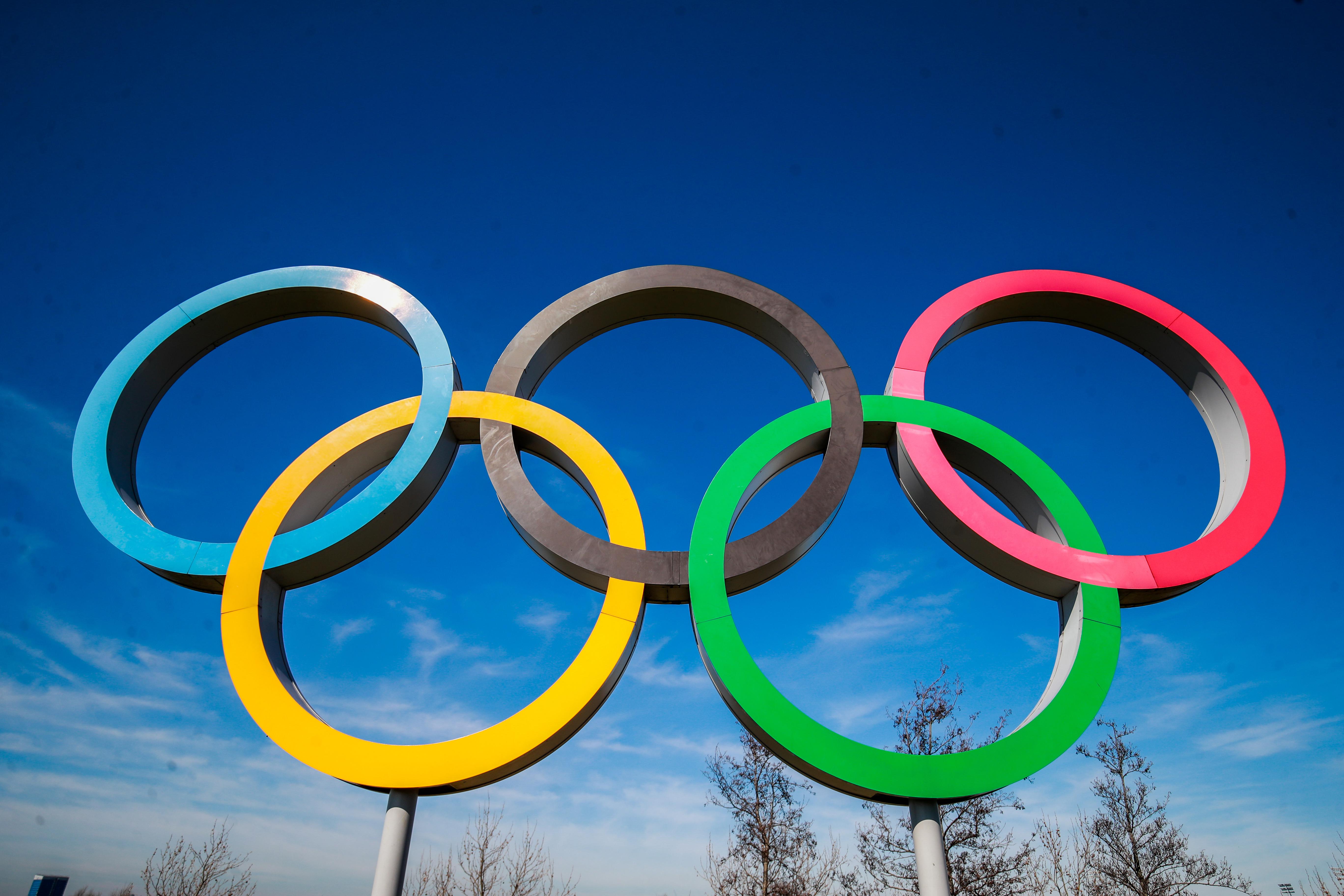 Olympic Rings - Queens Elizabeth Park