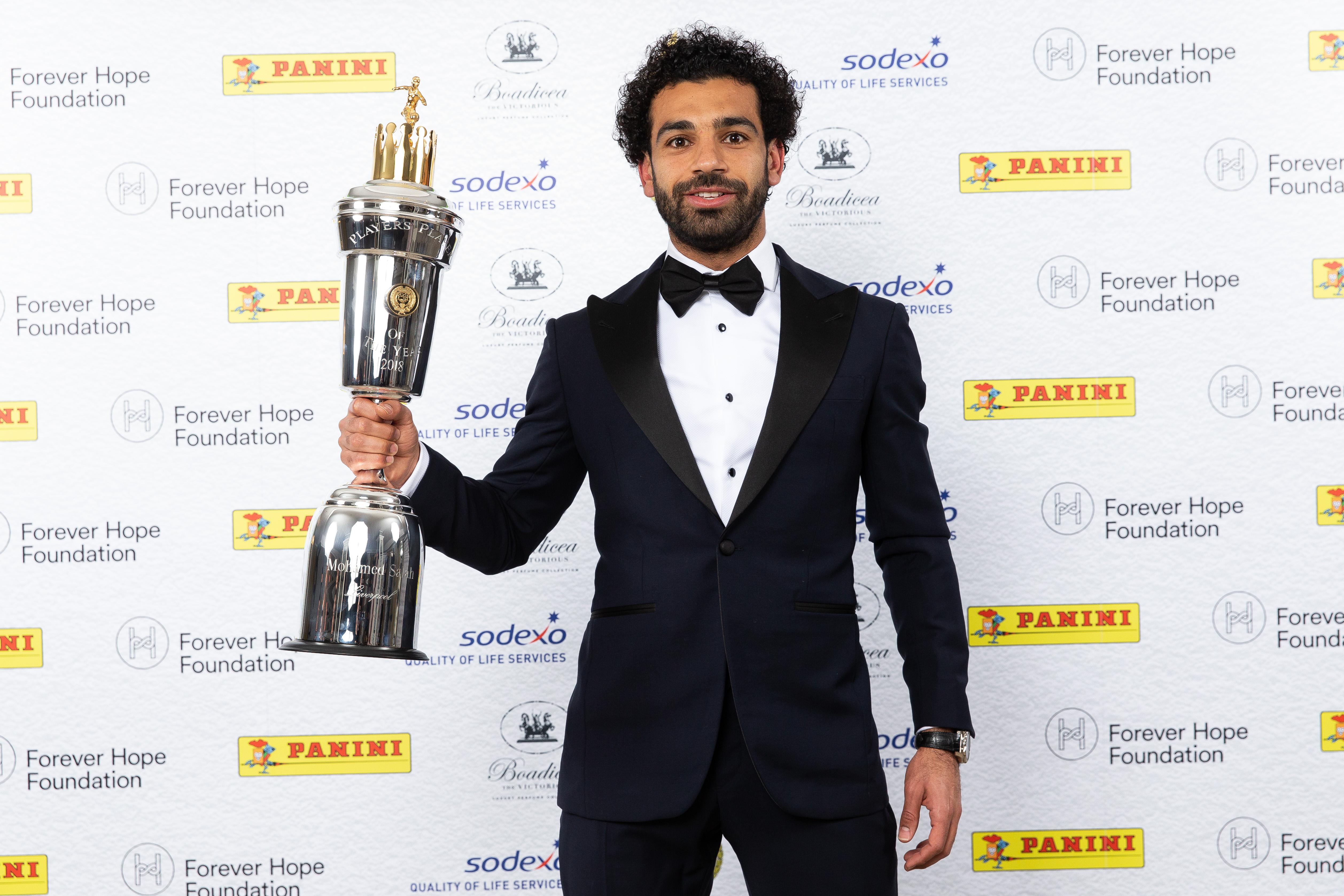 Mohamed Salah - Liverpool FC - PFA Awards 2018