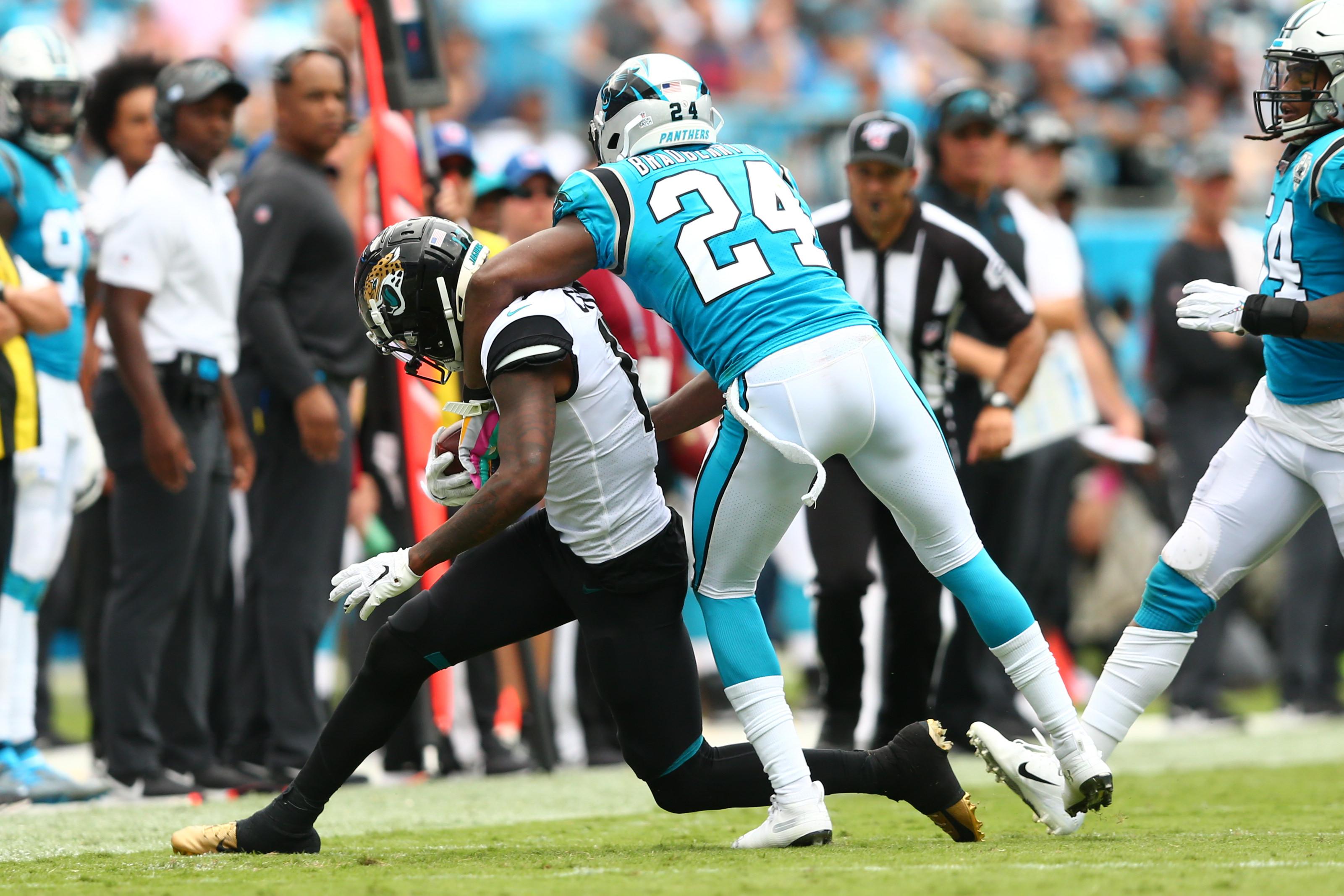 NFL: Jacksonville Jaguars at Carolina Panthers