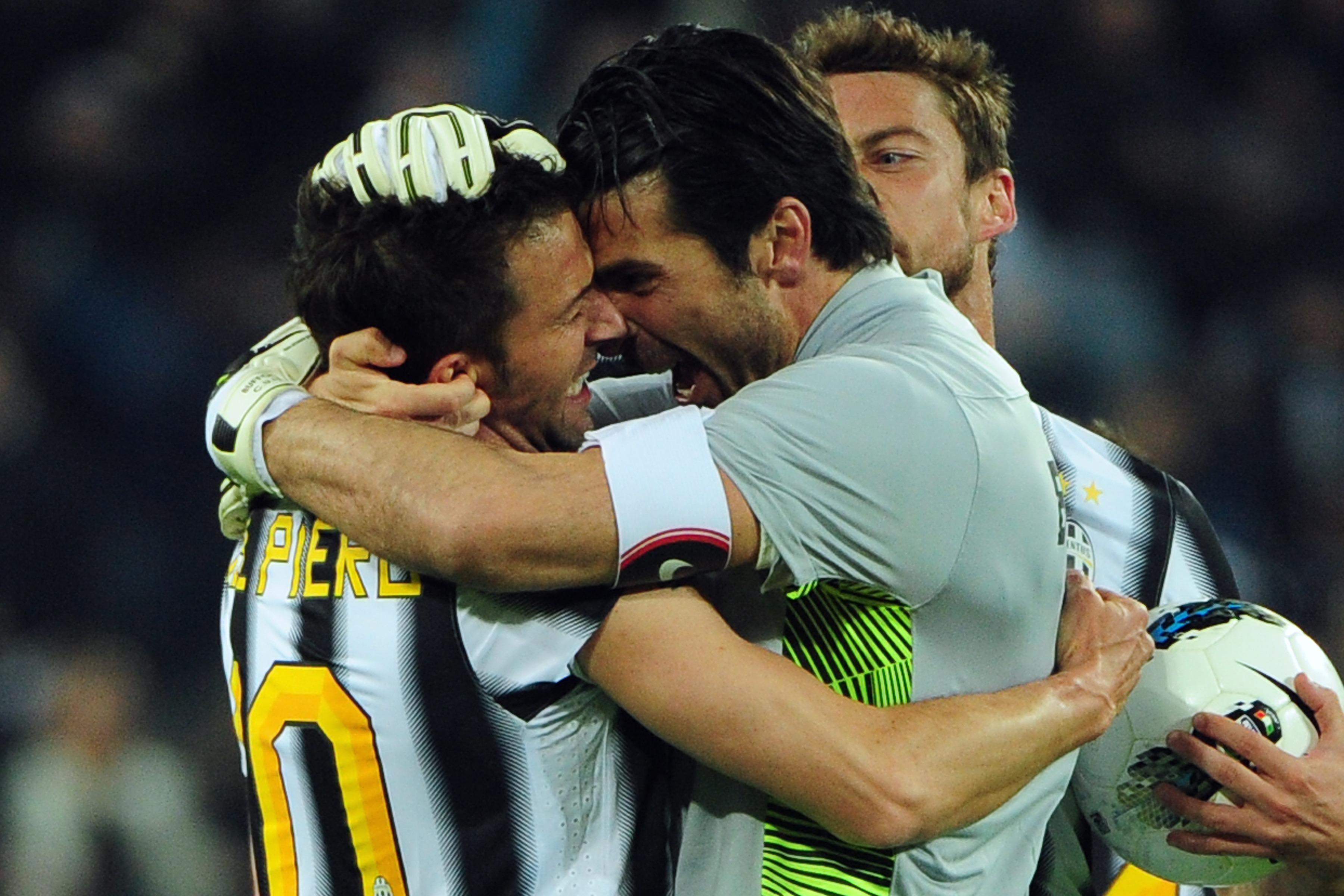 Juventus' forward Alessandro Del Piero (