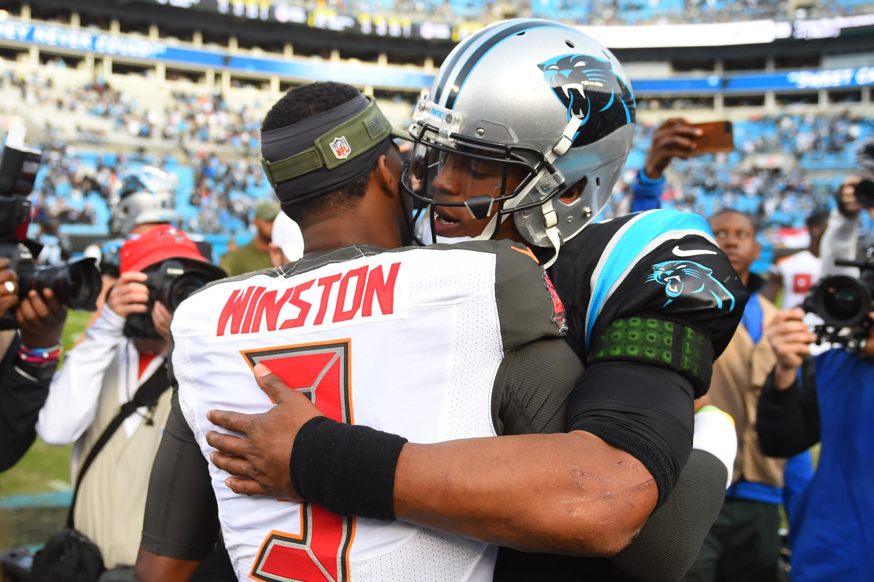 NFL: Tampa Bay Buccaneers at Carolina Panthers