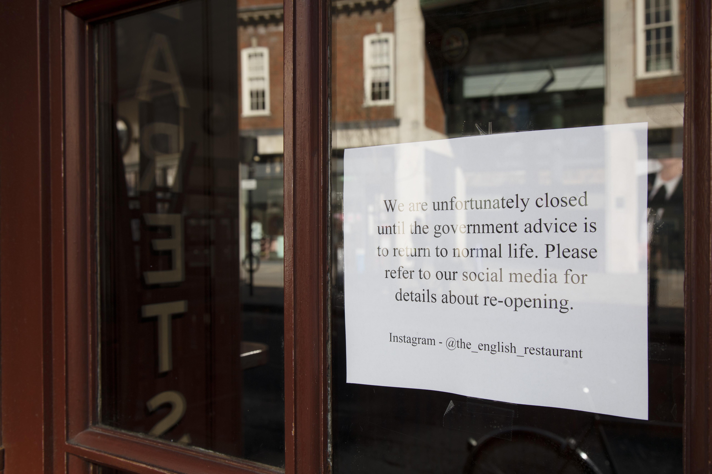 Spitalfields Affected By Coronavirus In London