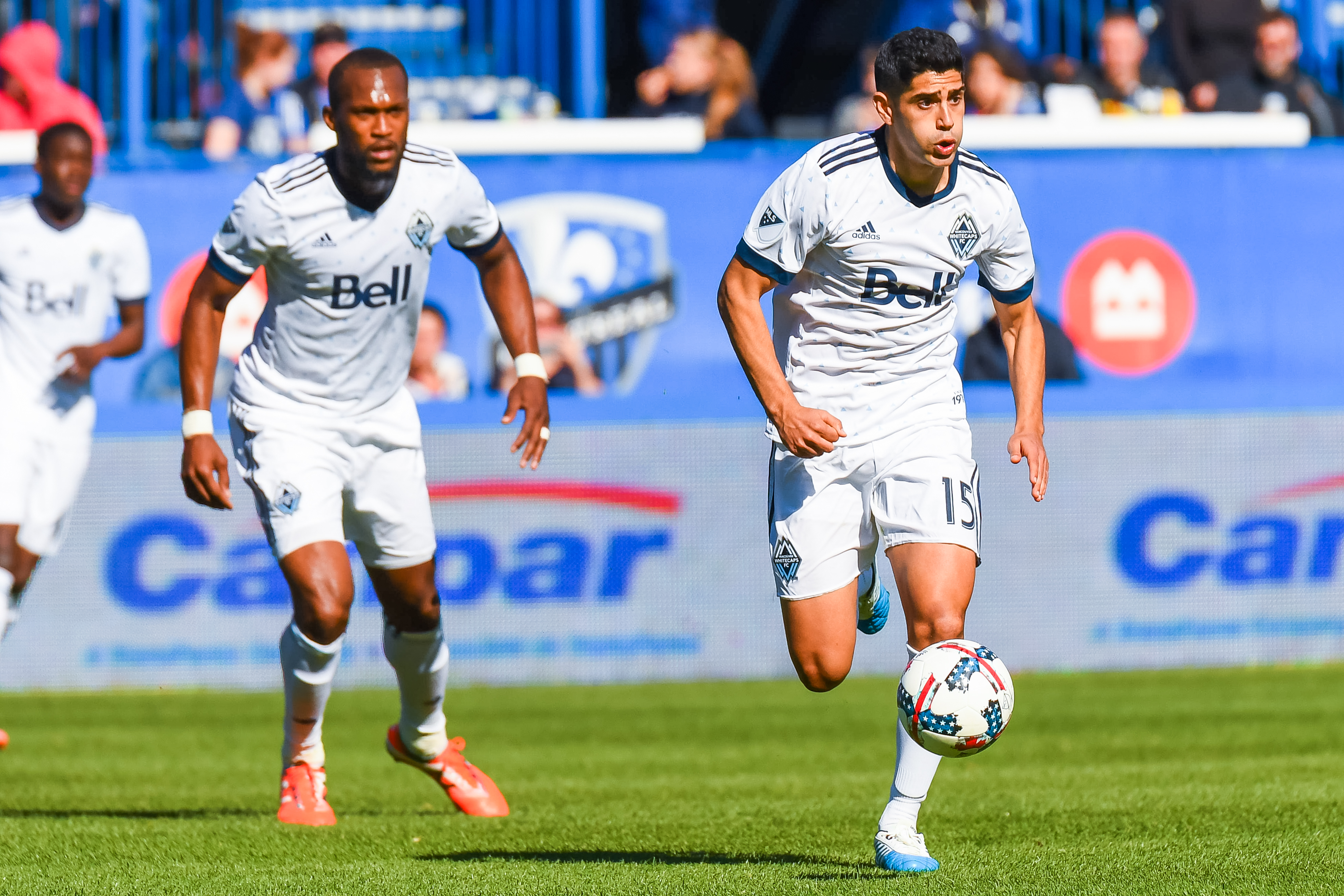 SOCCER: APR 29 MLS - Vancouver Whitecaps FC at Montreal Impact