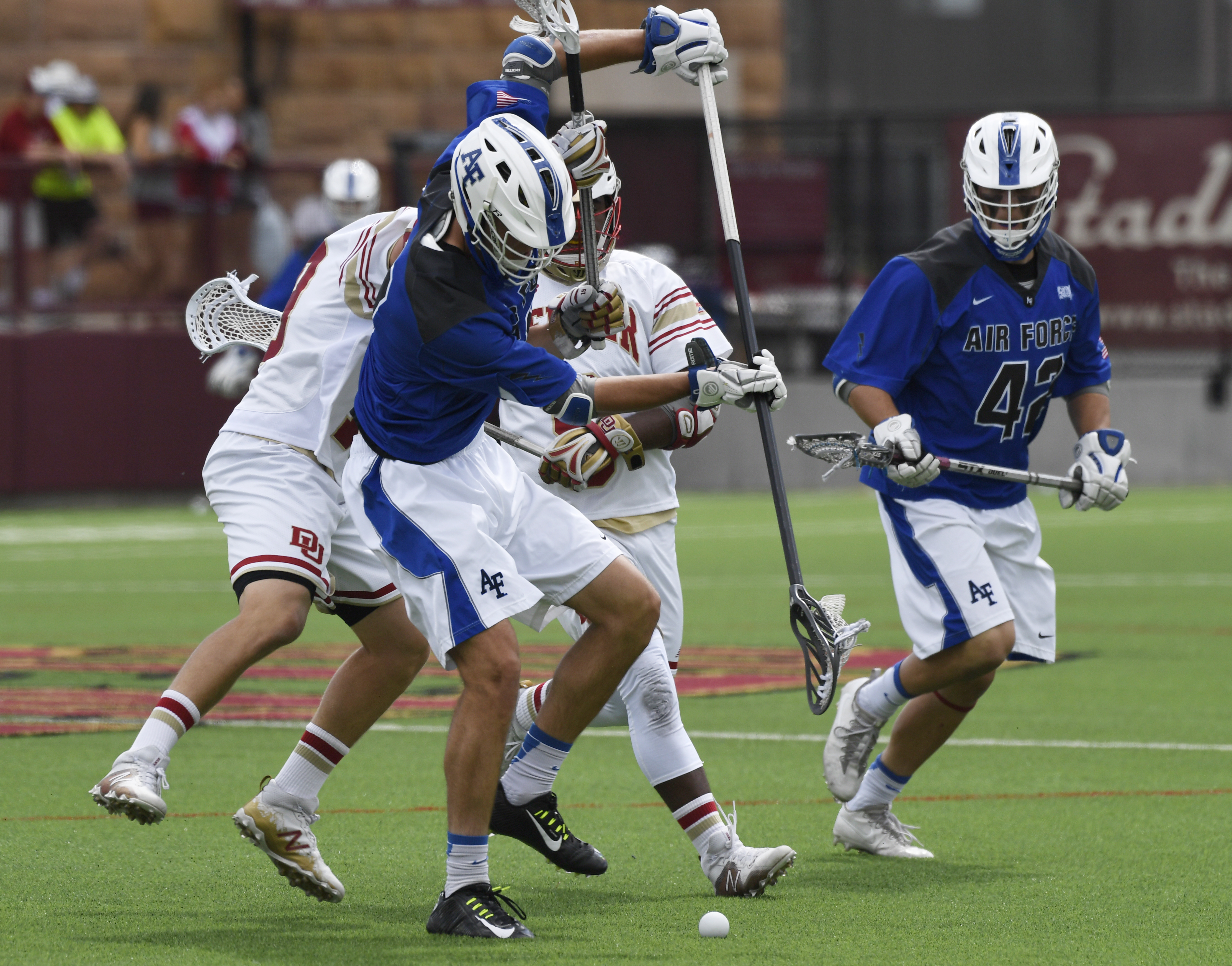 Denver University vs Air Force lacrosse