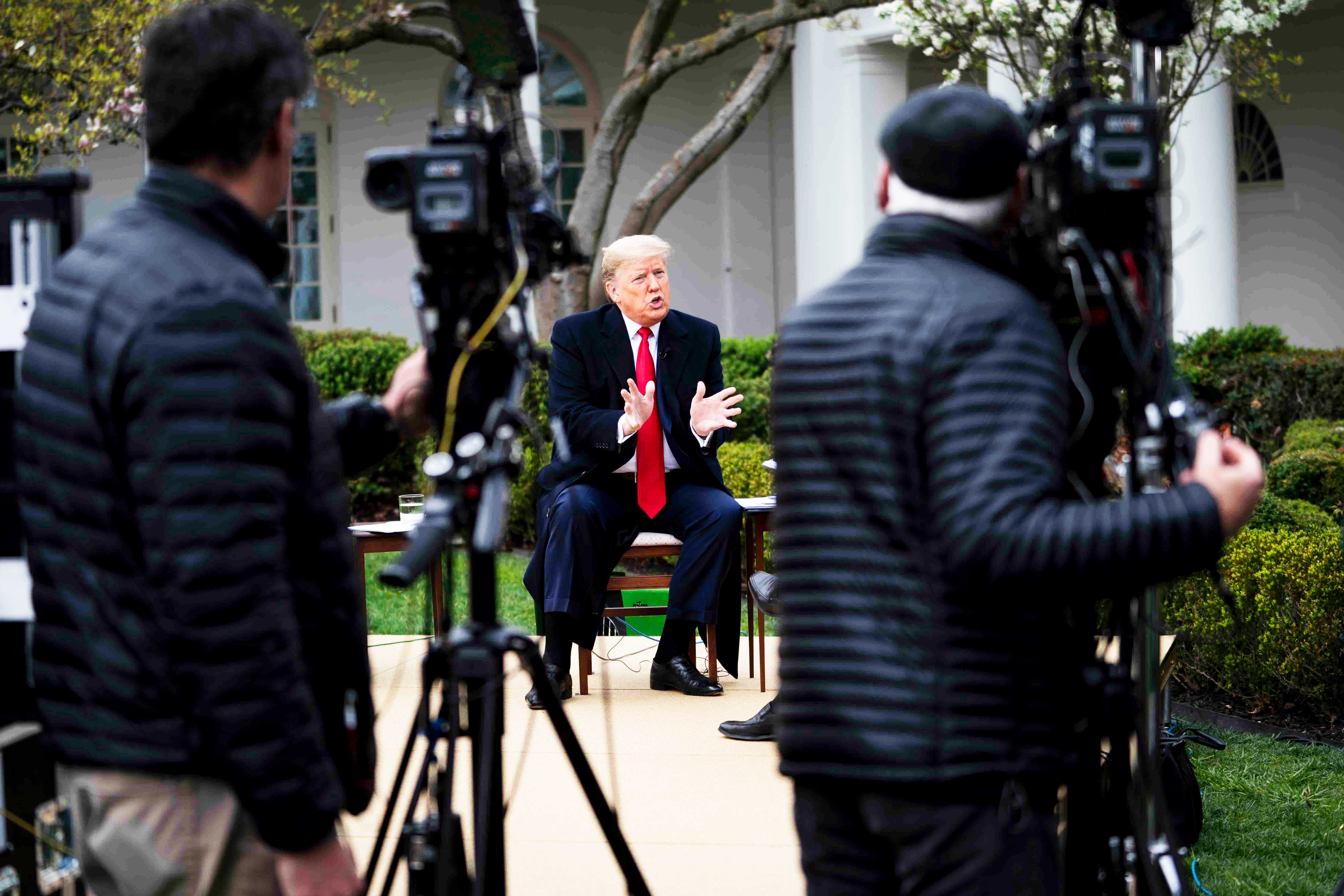 The Fox News moment that revealed a dangerously confused president