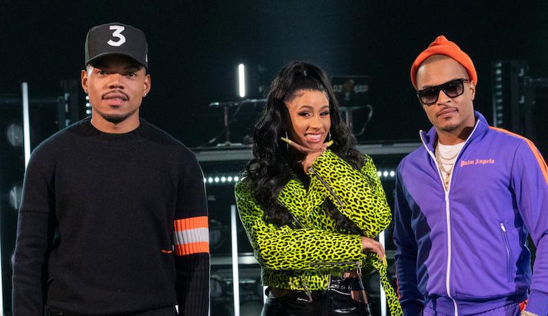 Chance The Rapper, Cardi B, T.I.