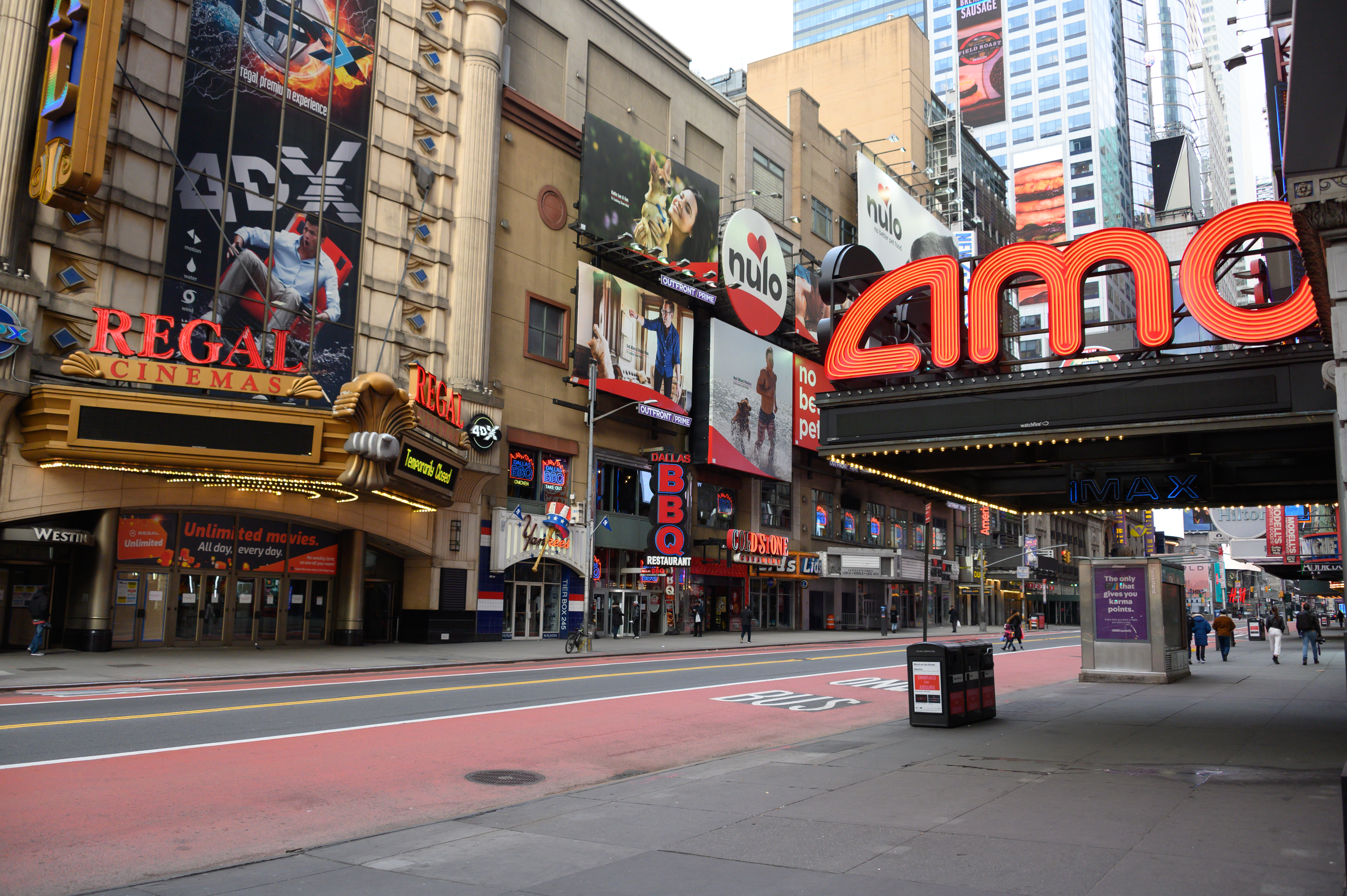 New York City Tourism And Entertainment Industry Stifled By Coronavirus Restrictions