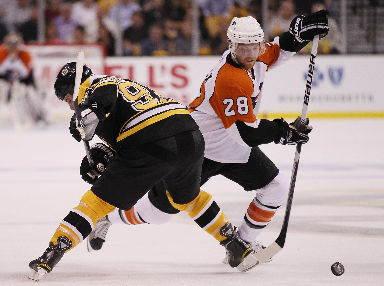Philadelphia Flyers v Boston Bruins - Game Two