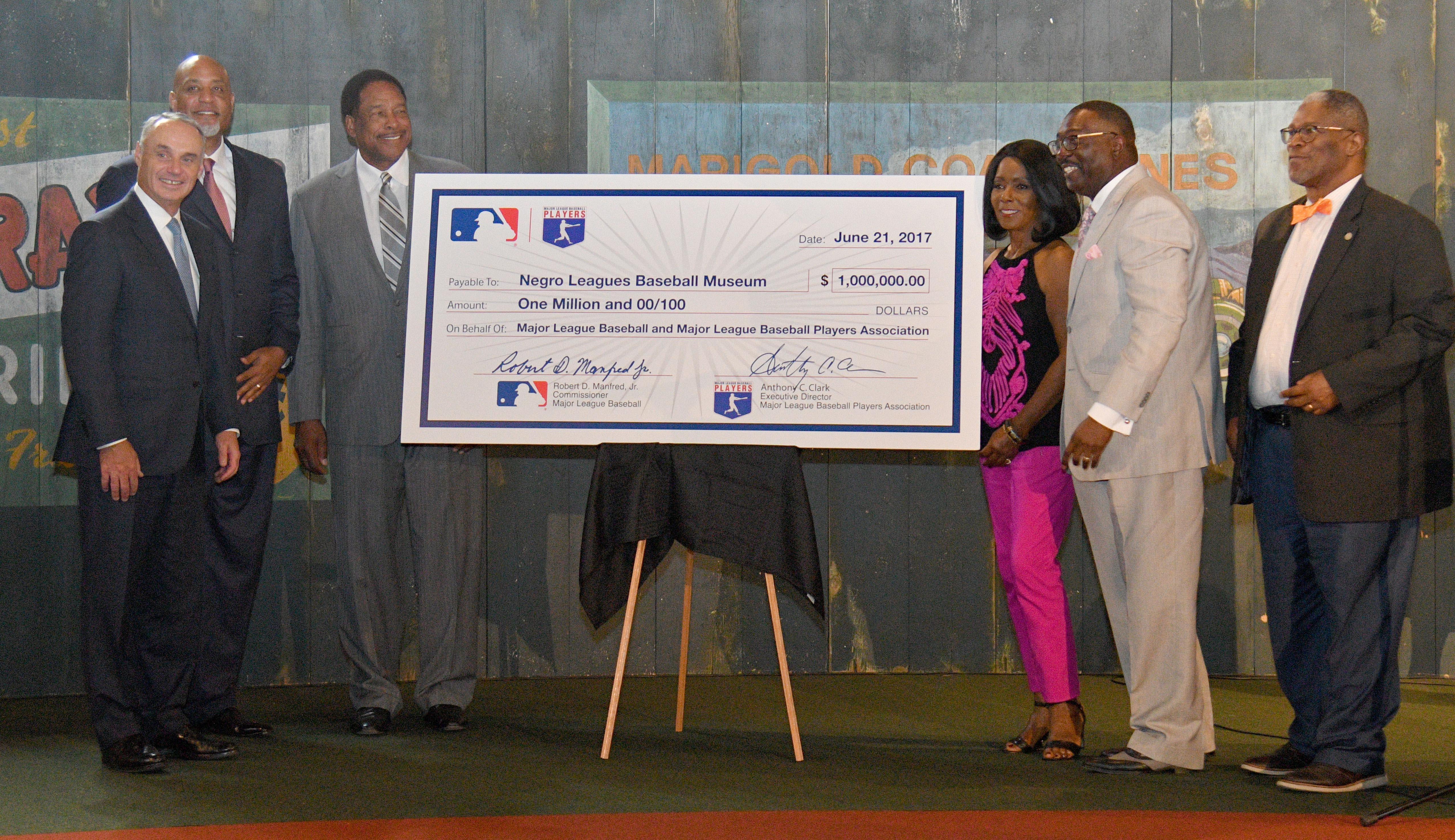 MLB:黑人联盟棒球博物馆新闻发布会