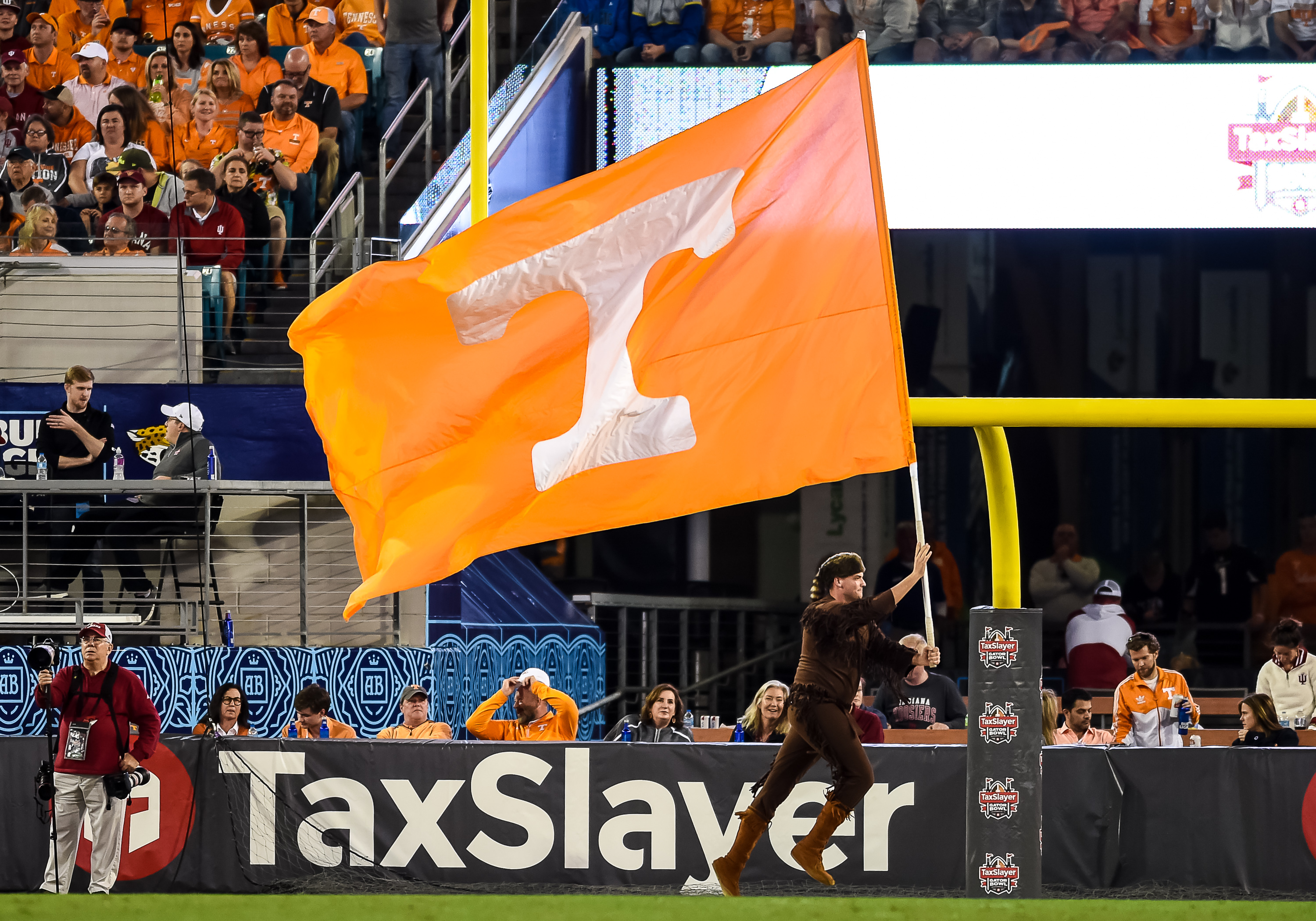 COLLEGE FOOTBALL: JAN 02 Taxslayer Gator Bowl - Indiana v Tennessee
