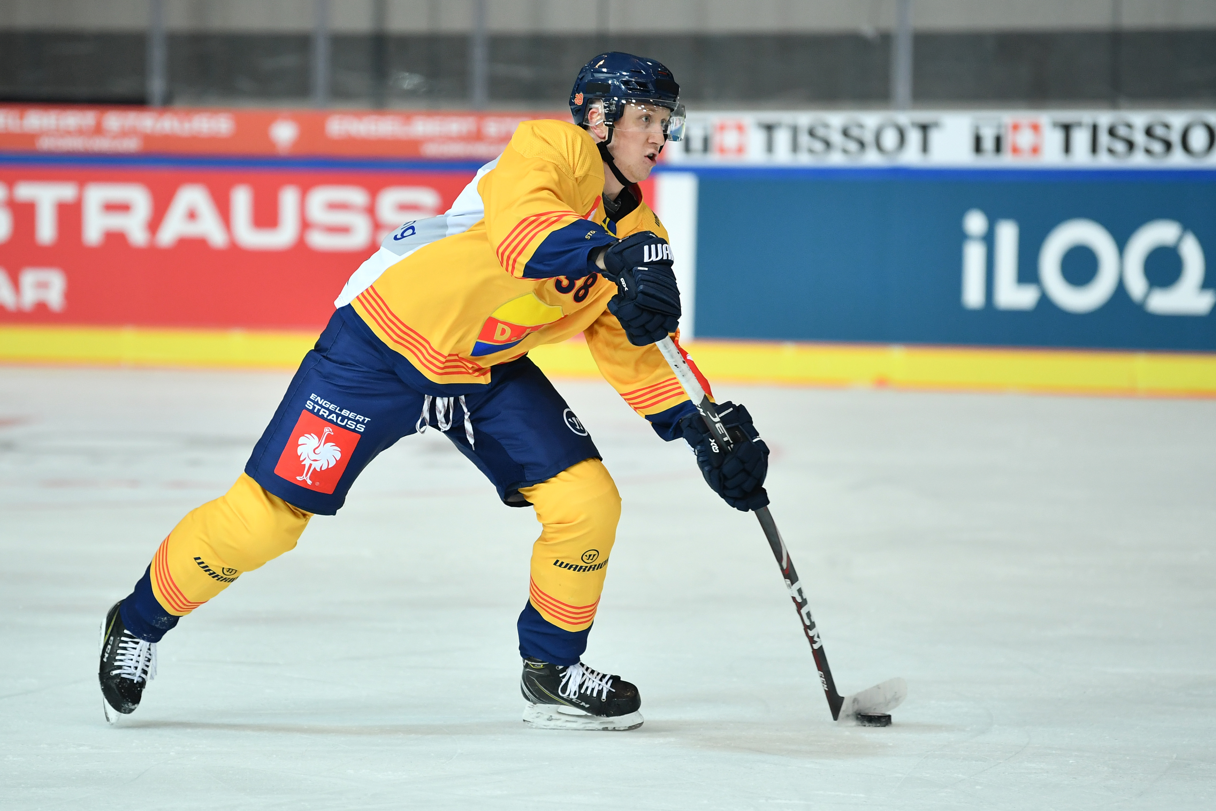 EHC Red Bull Muenchen v Djurgarden Stockholm - Champions Hockey League - Quarter Finals: 2nd Leg