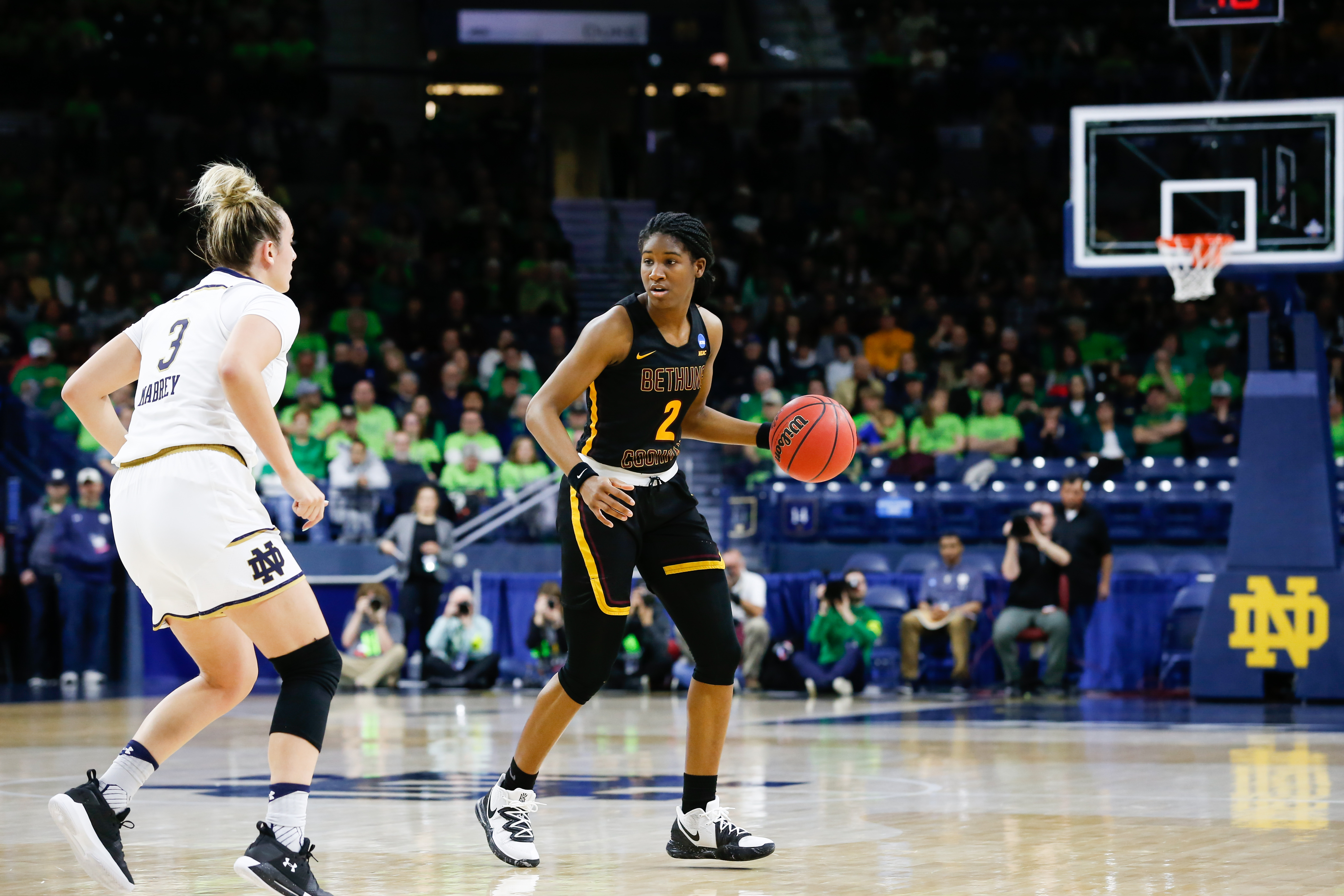 NCAA BASKETBALL: MAR 23 Div I Women's Championship - First Round - Bethune-Cookman v Notre Dame
