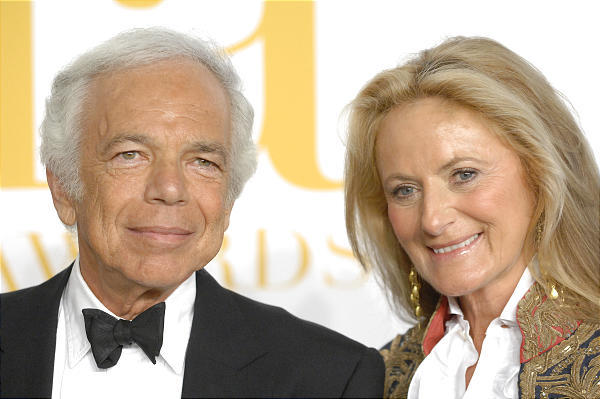 Designer Ralph Lauren and wife Ricky Lauren attend the 2009 CFDA Fashion Awards in New York.