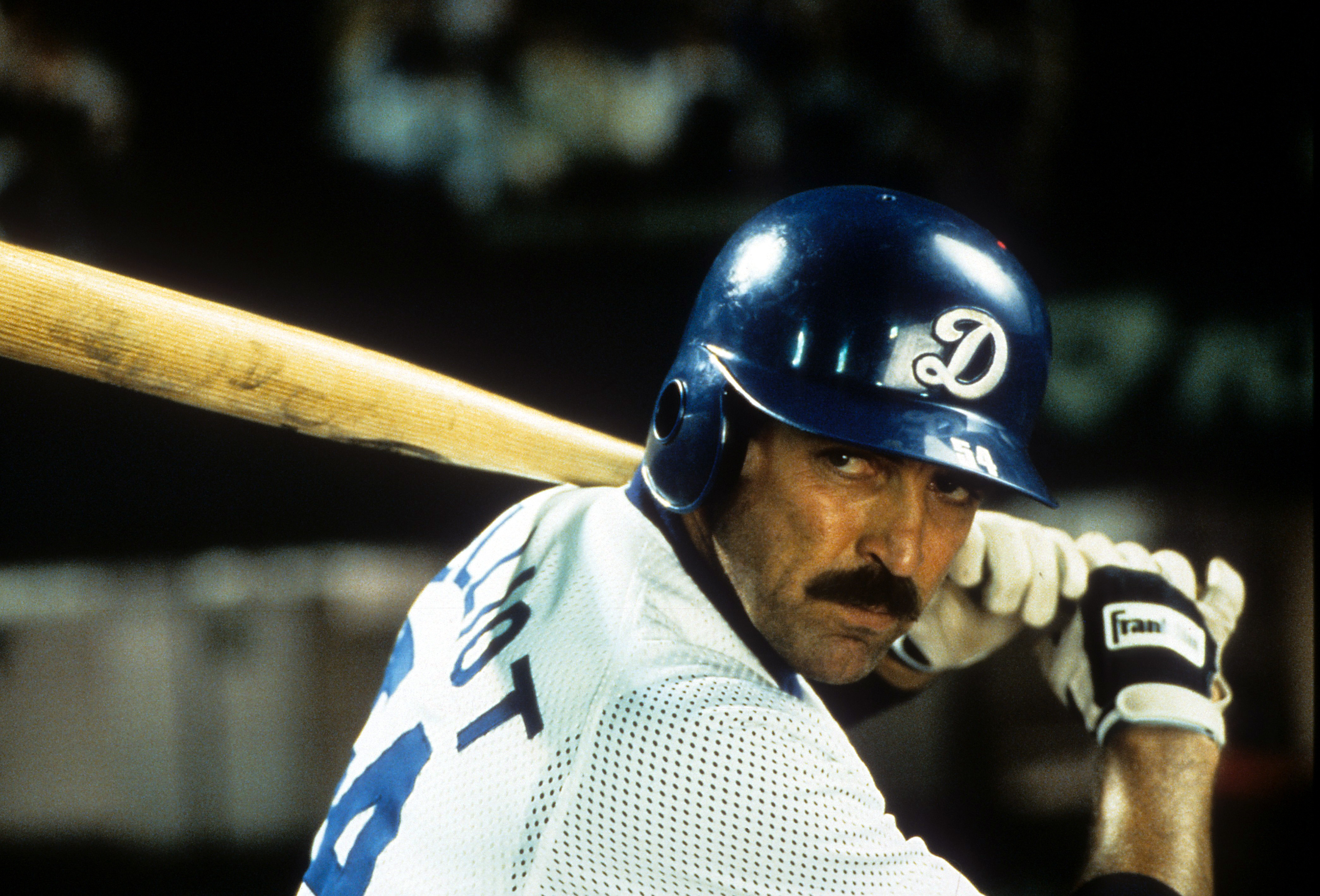 Tom Selleck as Jack Elliot in 'Mr. Baseball'