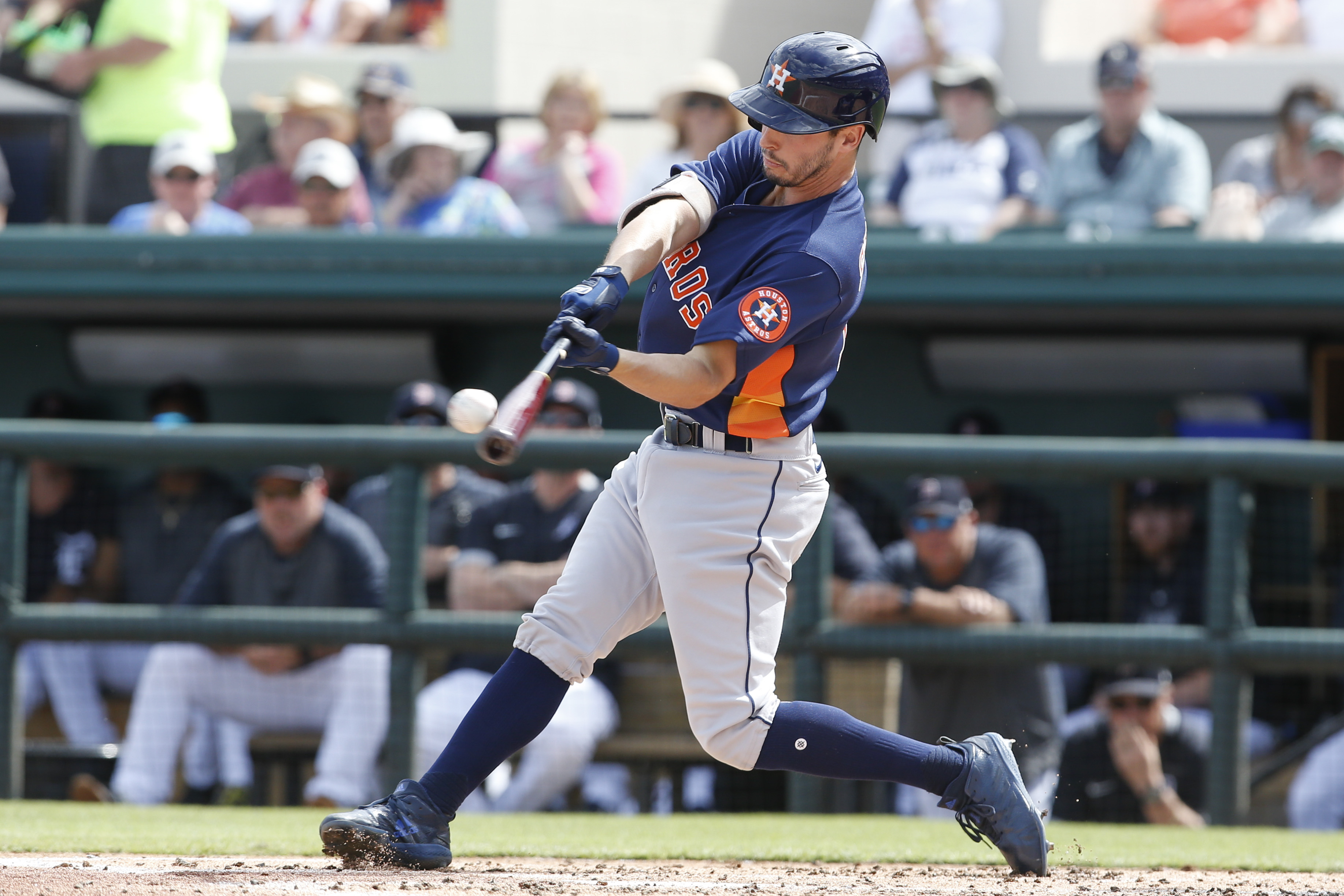 MLB: Spring Training-Houston Astros at Detroit Tigers