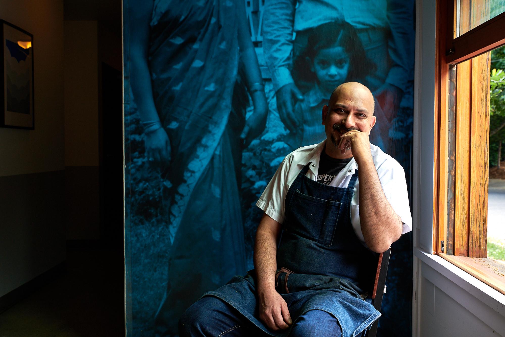 Deepak Kaul, owner and chef of Bhuna