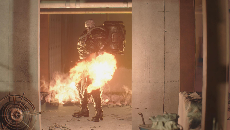 Resident Evil 3 Demolition Site Nemesis boss fight walkthrough