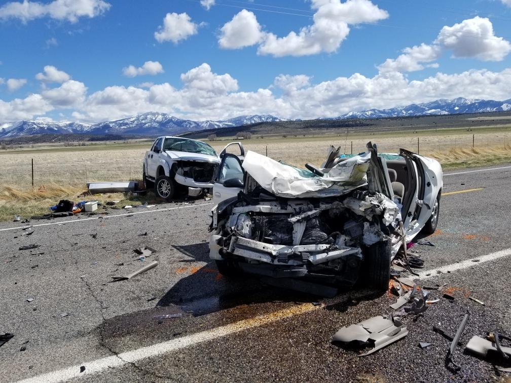 One man was killed and two others were seriously injured in a head-on collision when smoke reduced visibility on state Route 100 near Fillmore on Monday, March 30, 2019.