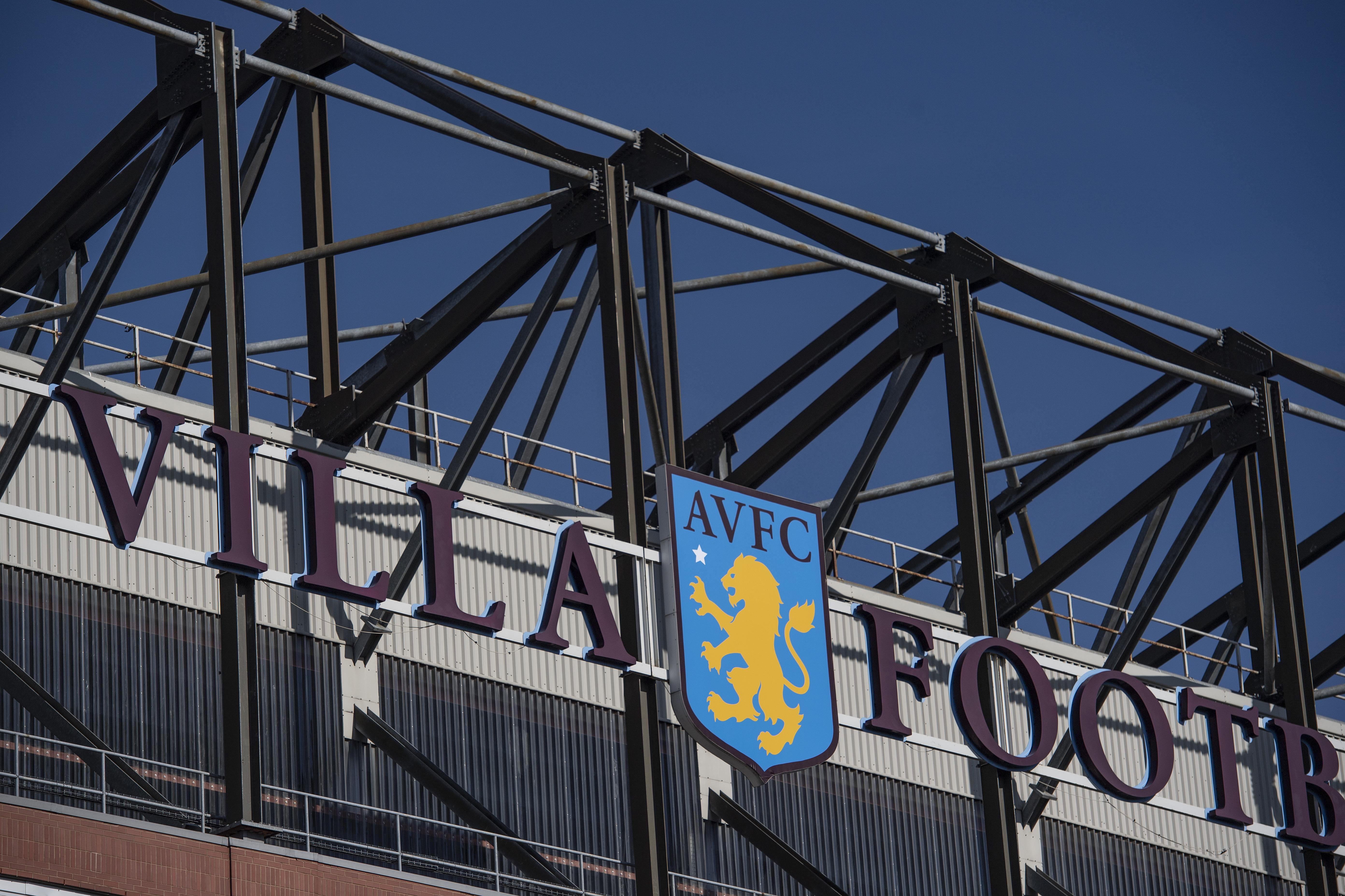 Villa Park - Home of Aston Villa Football Club.