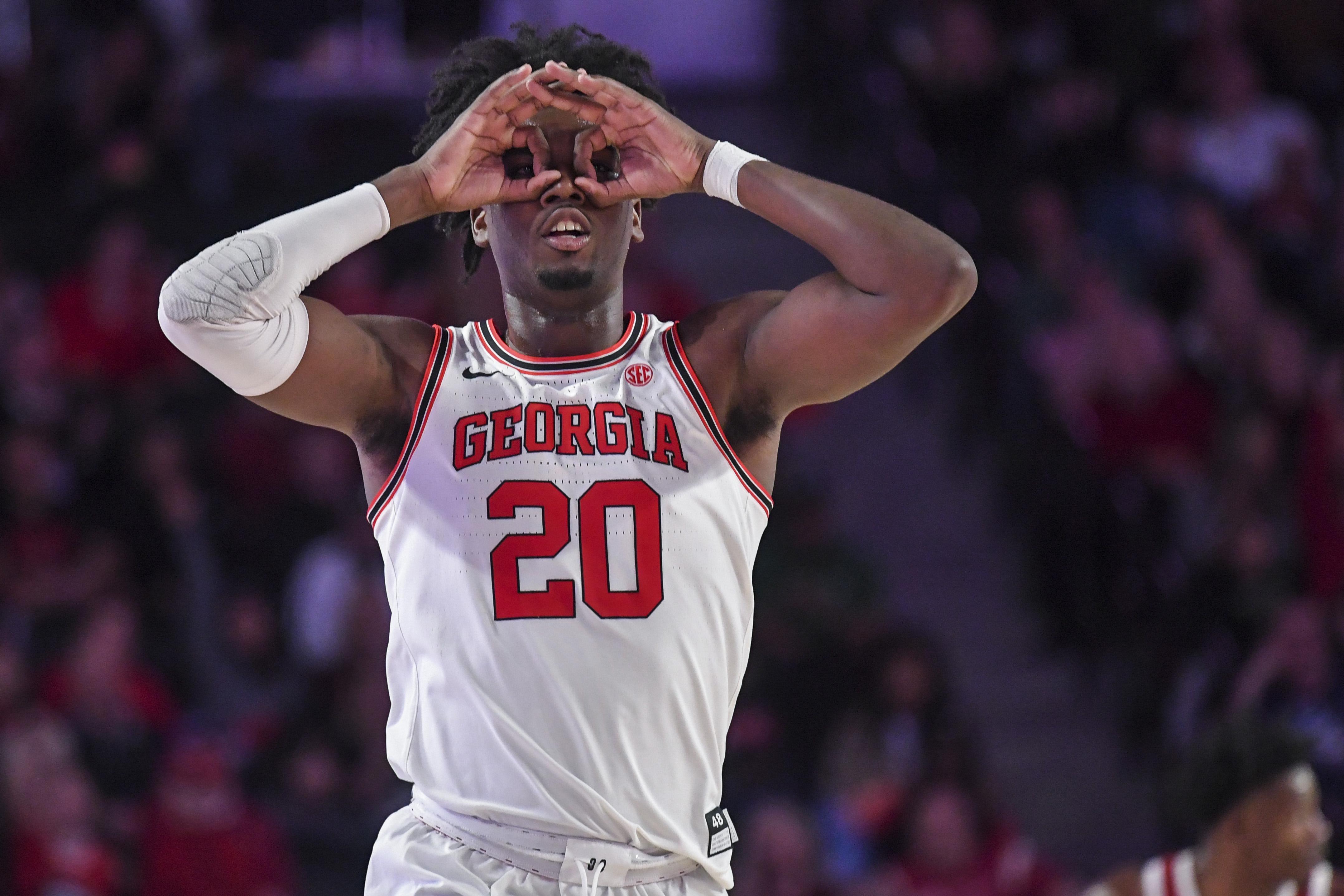 NCAA Basketball: Arkansas at Georgia