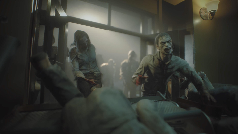 Resident Evil 3 Defend Jill Hospital Lobby walkthrough