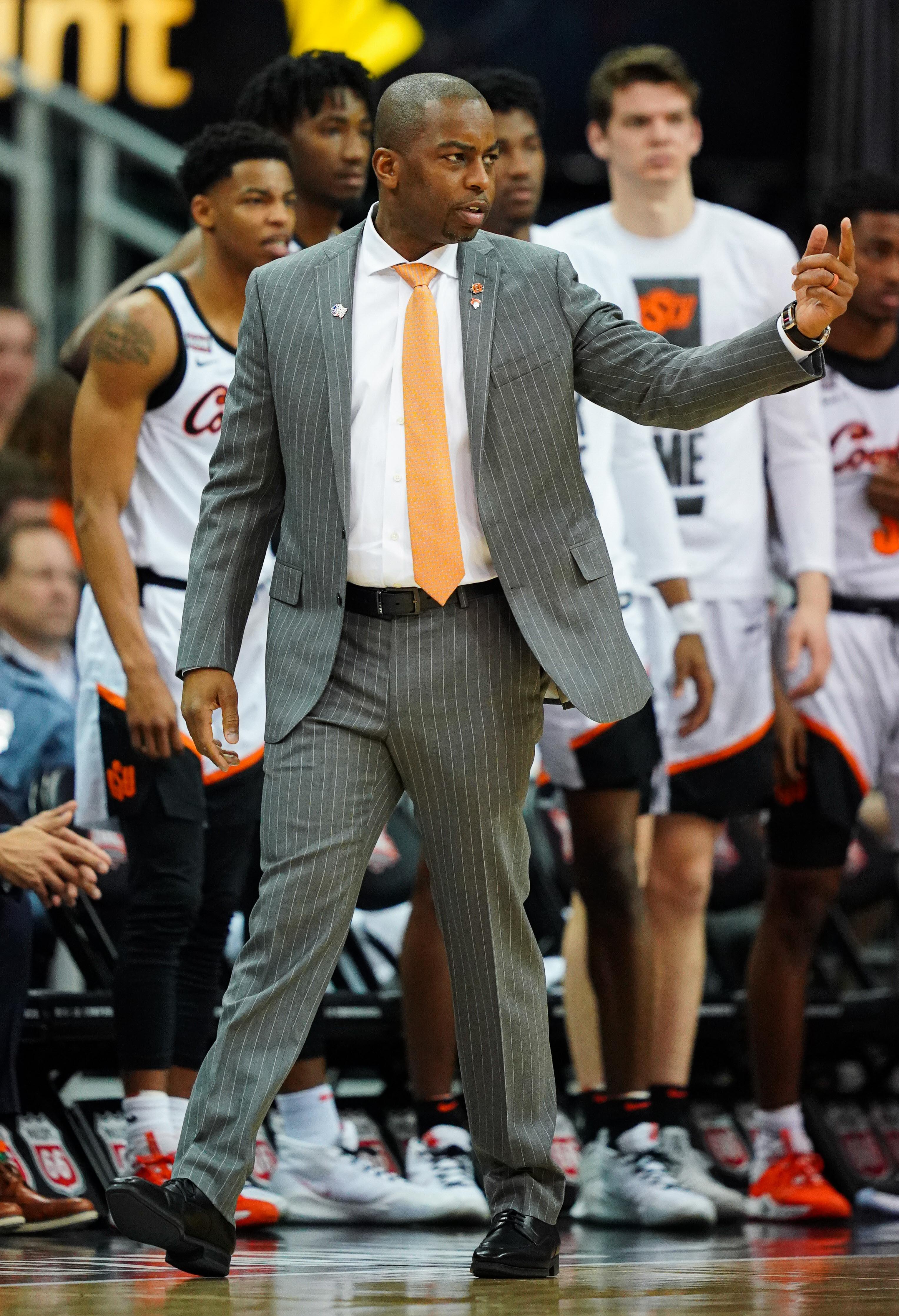 NCAA Basketball: Big 12 Tournament-Oklahoma State vs Iowa State