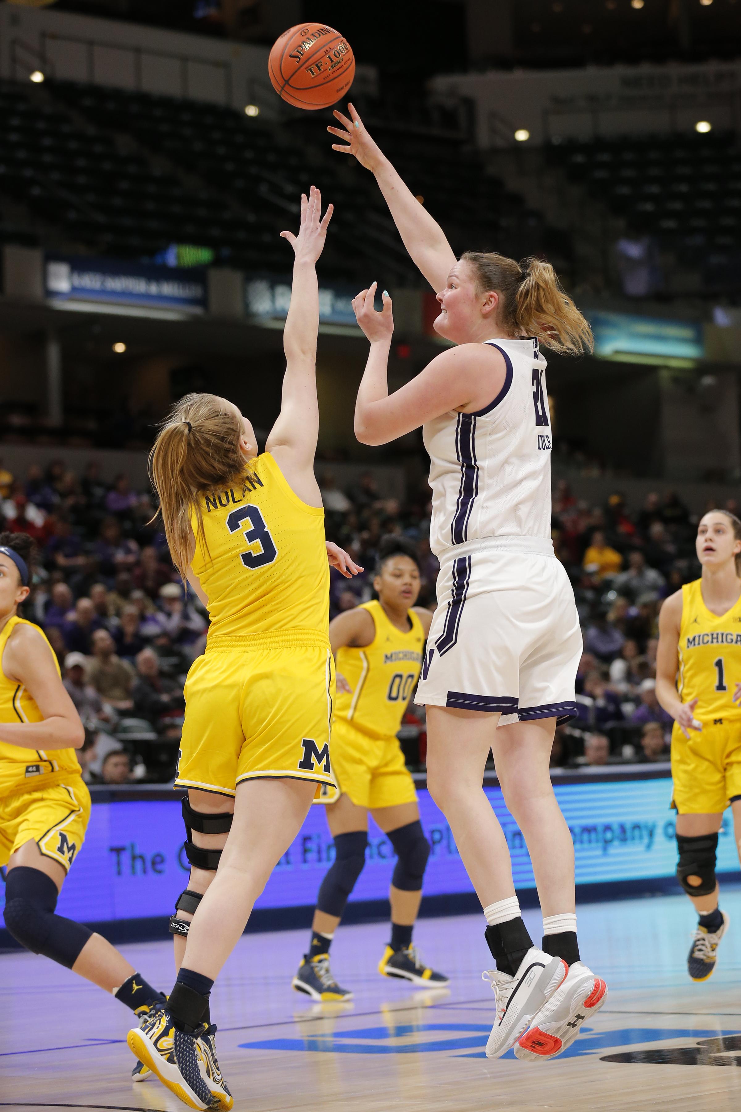 COLLEGE BASKETBALL: MAR 06 Big Ten Women's Tournament - Ohio State vs Iowa