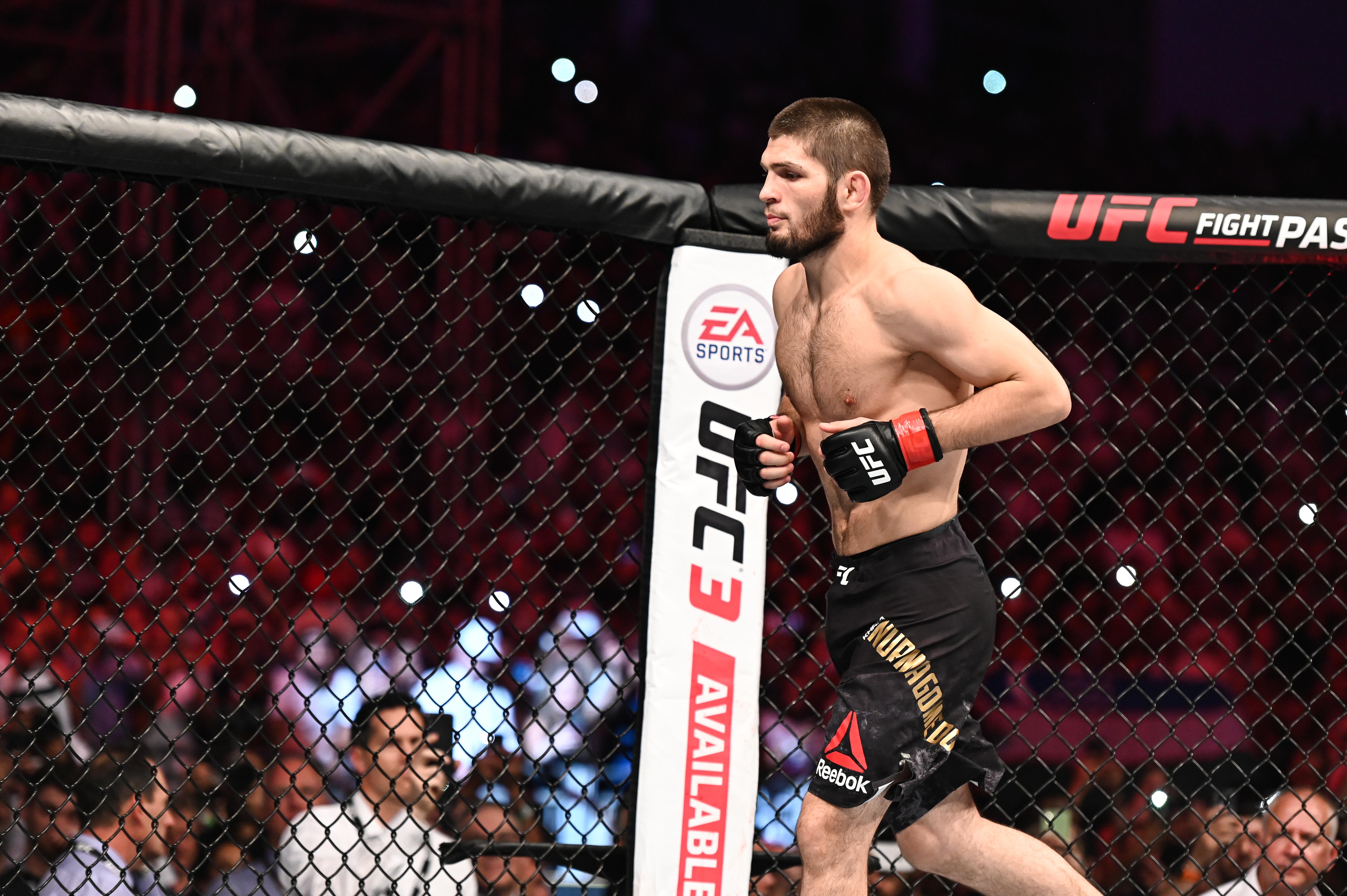 MMA: UFC 242- Nurmagomedov vs Poirier