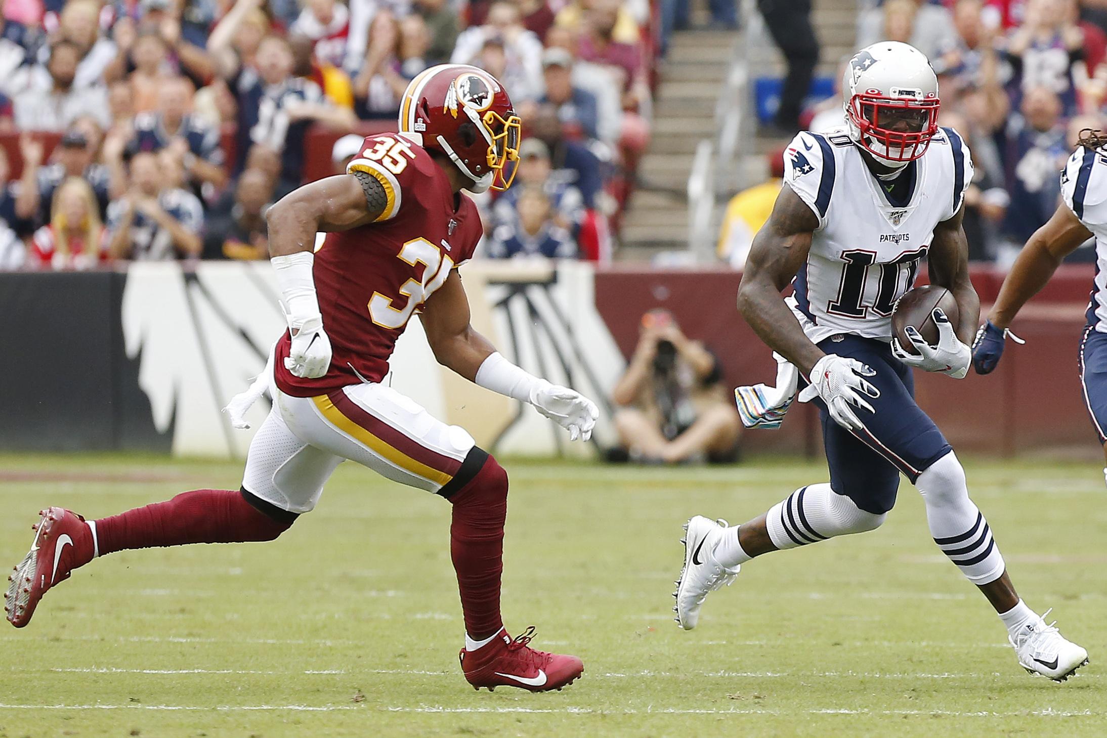 NFL: New England Patriots at Washington Redskins